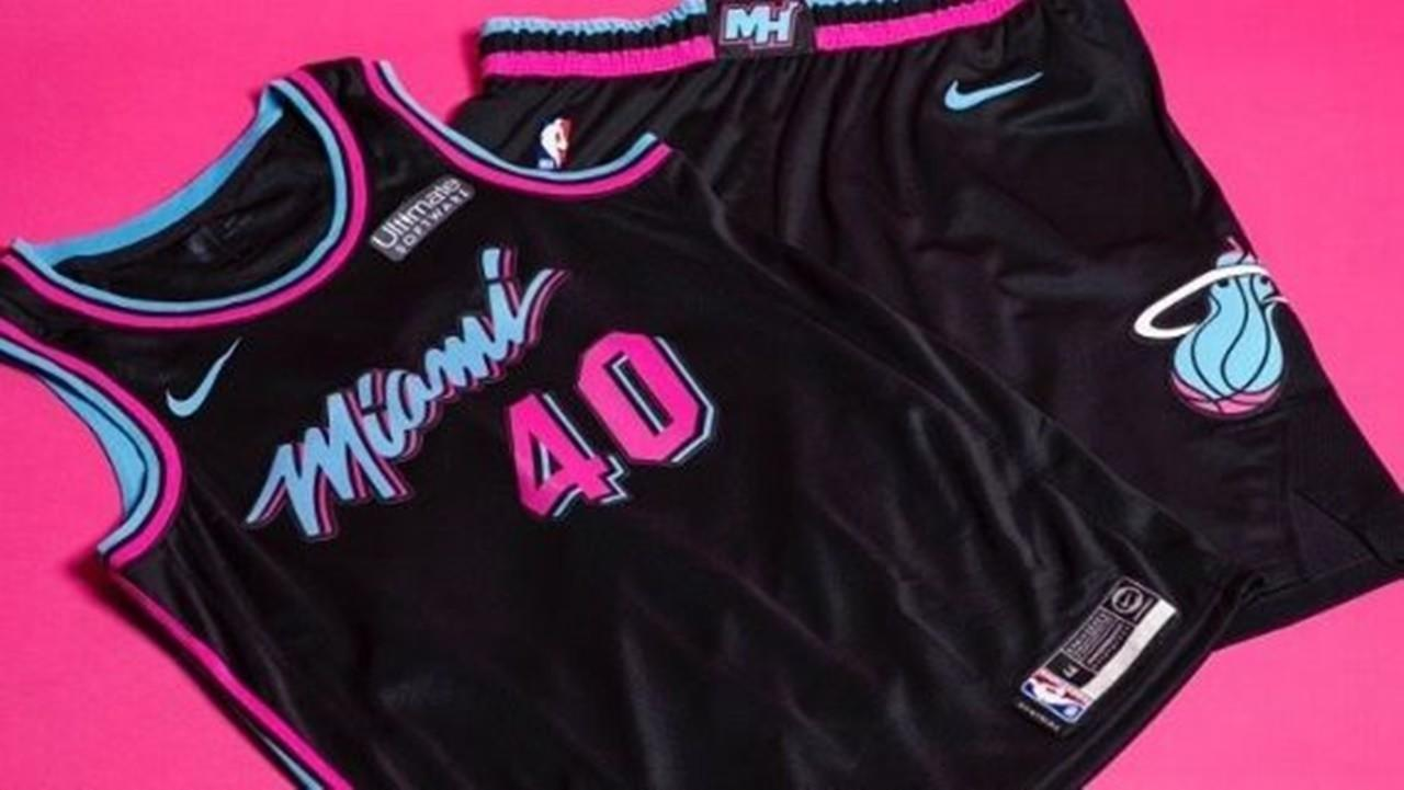 Miami Heat reveal black 'Vice' jerseys, debut to come ...