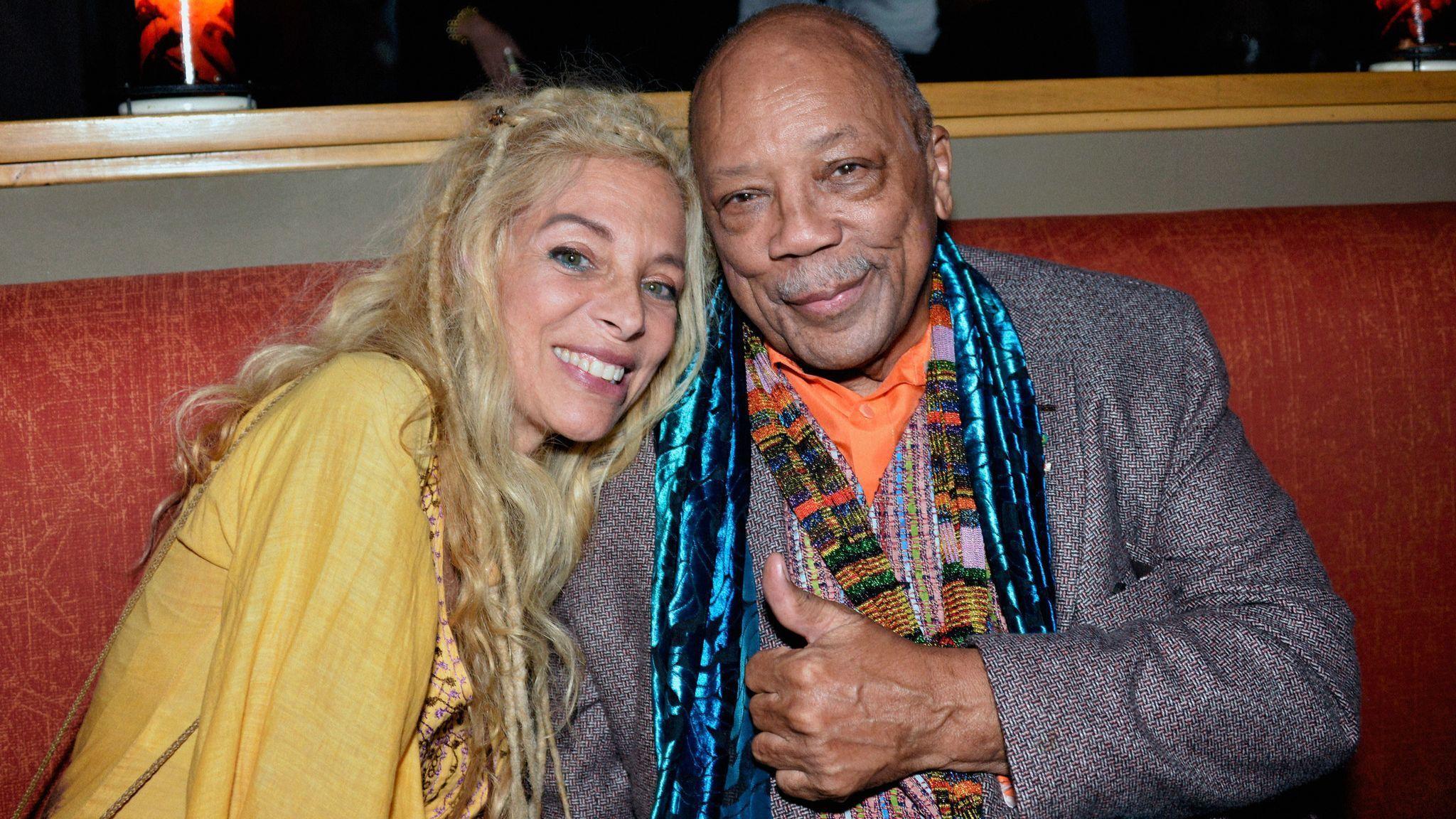 Quincy Jones Hosts Jazz Foundation L.A. Fundraiser - Honoring Johnny Mathis