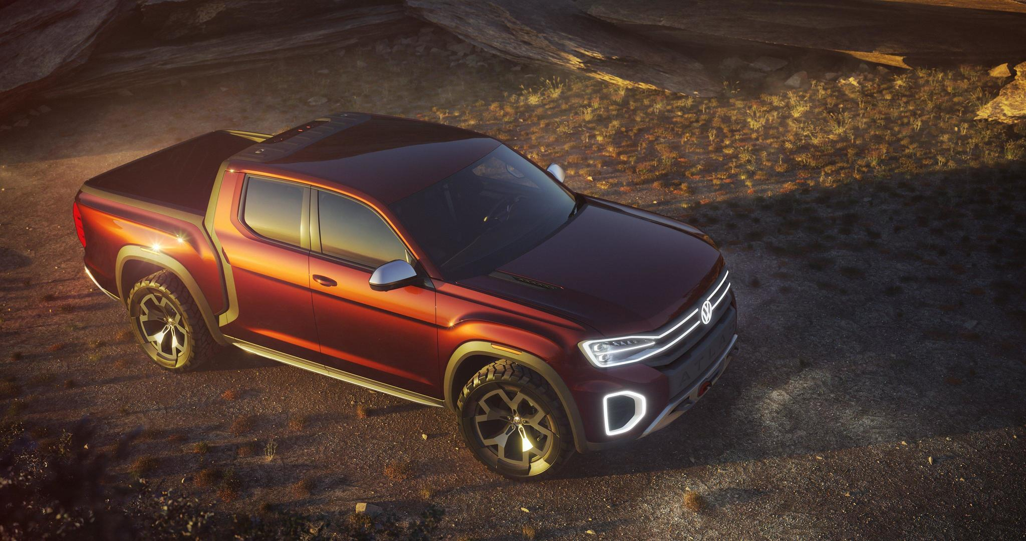 Volkswagen Launches Small Pickup But Makes No Promises For North