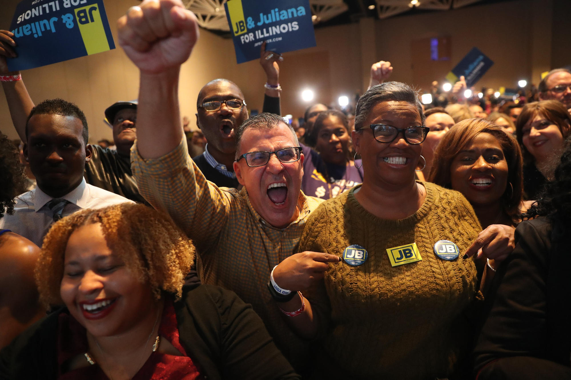 Election Wont End This Overnight But >> How Illinois Democrats Won A Statewide Sweep And 2 Pivotal