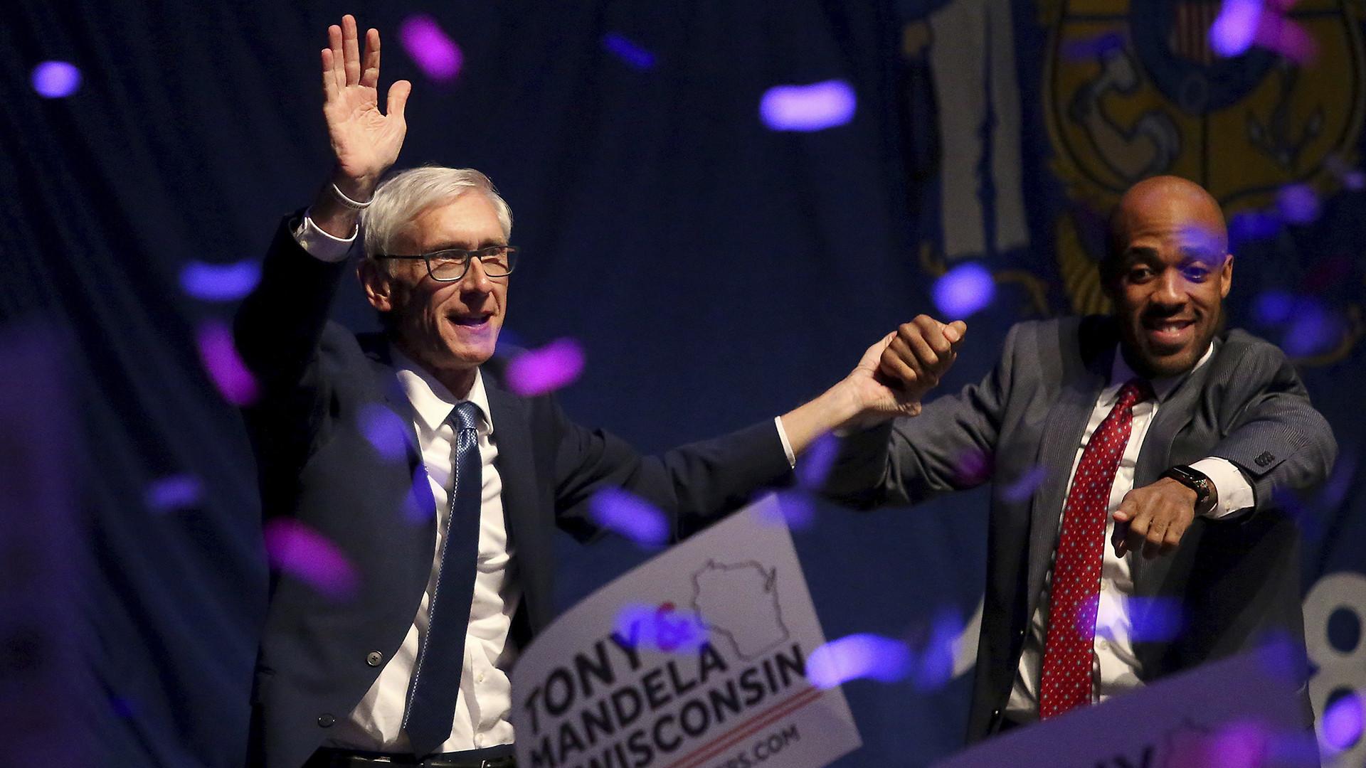 Wisconsin Democrats rejoice as Republican Gov. Scott Walker is finally gone