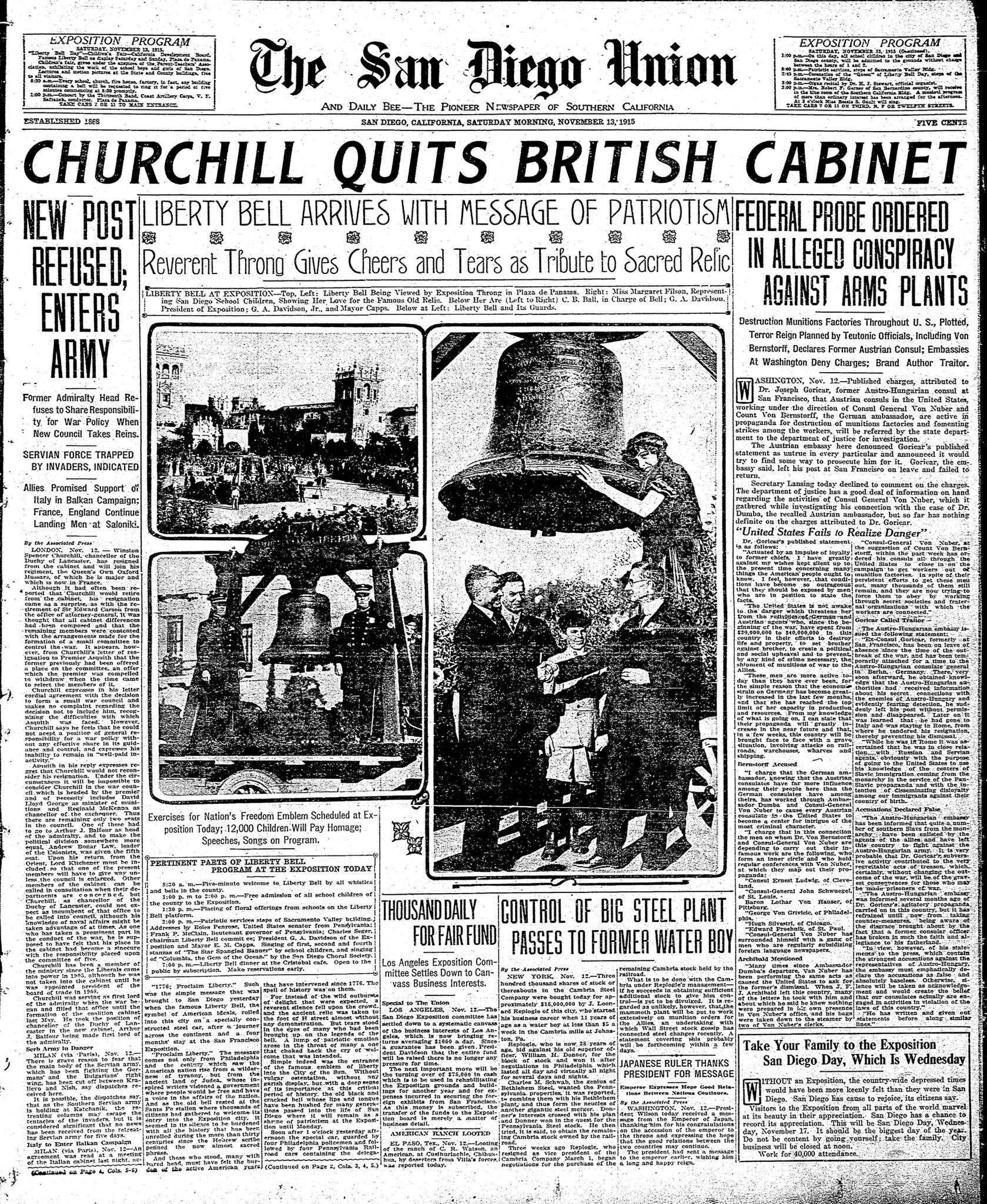 November 13, 1915