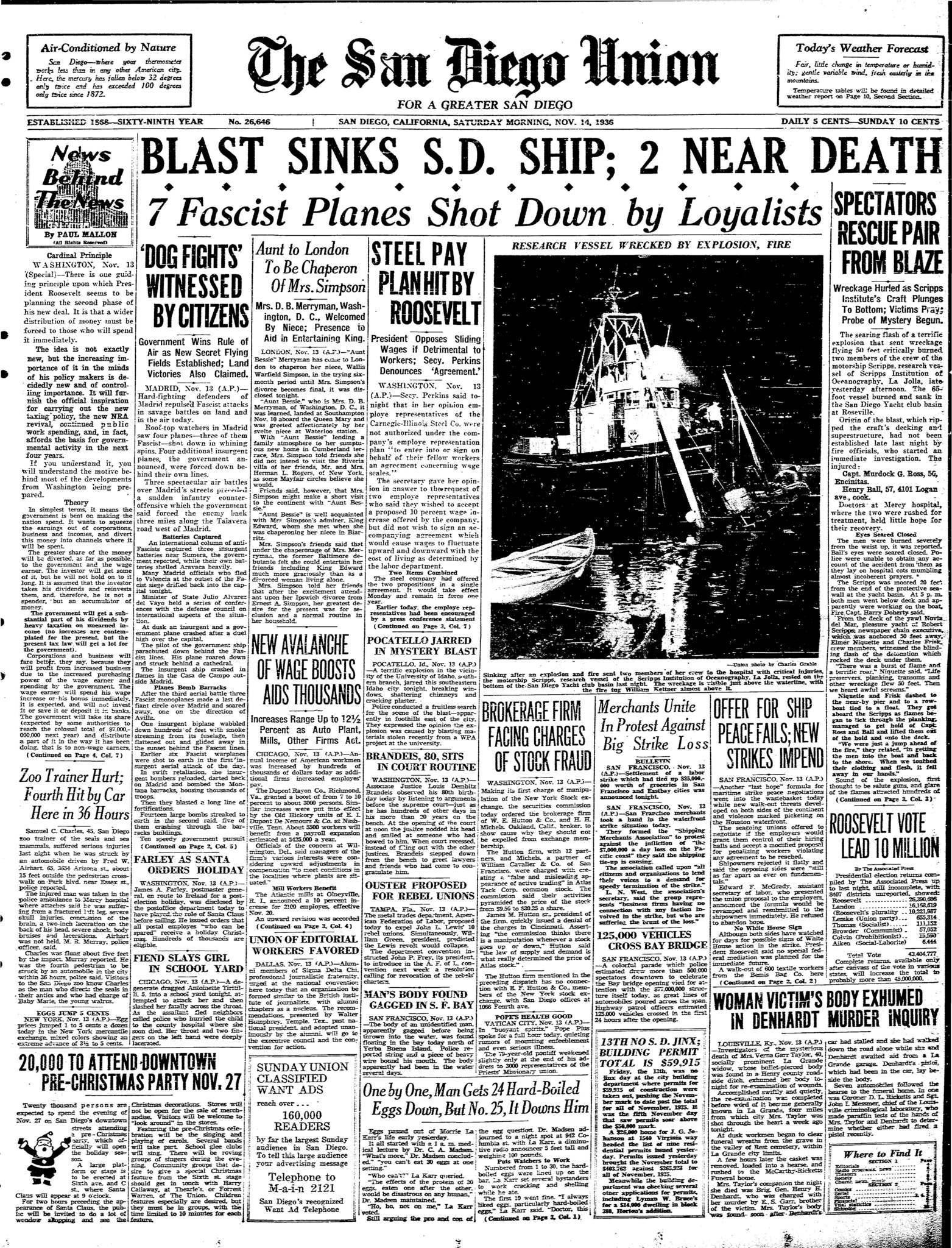 November 14, 1936