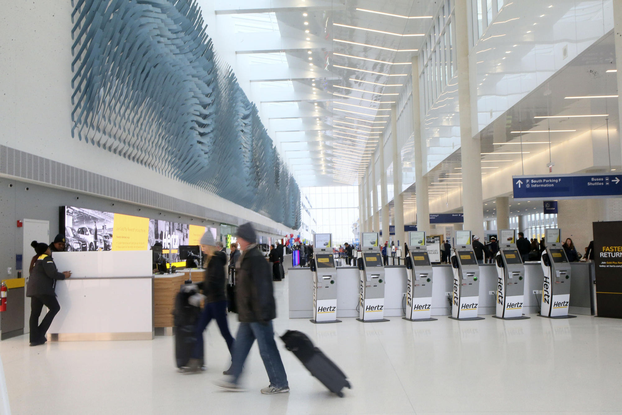 City Opens 841 Million Parking And Rental Car Facility At O Hare