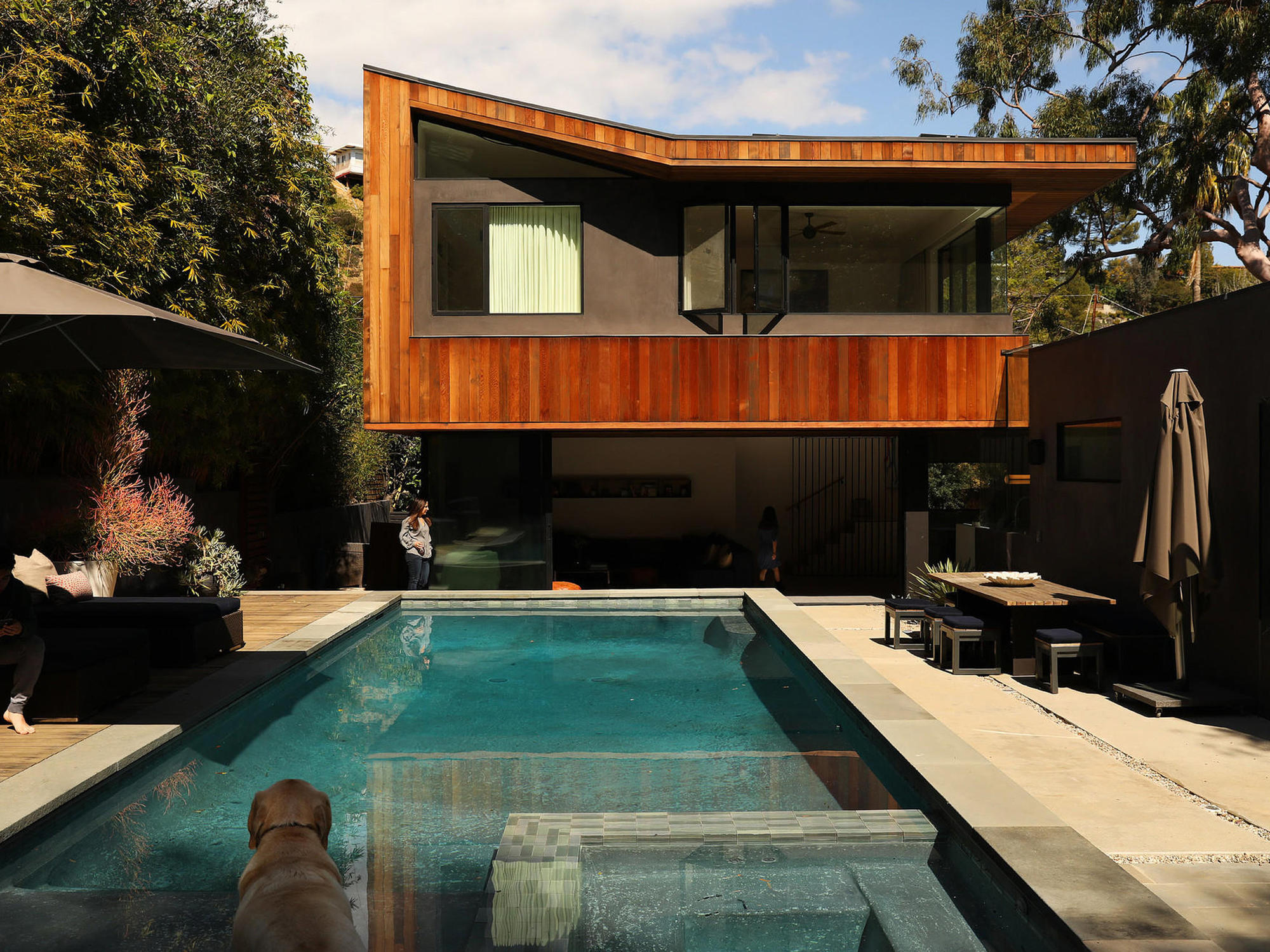 Yaniv and nina teppers new second floor master bedroom expands their view of laurel canyon christina house los angeles times