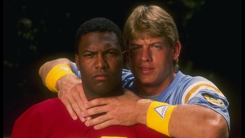 Rodney Peete & Troy Aikman