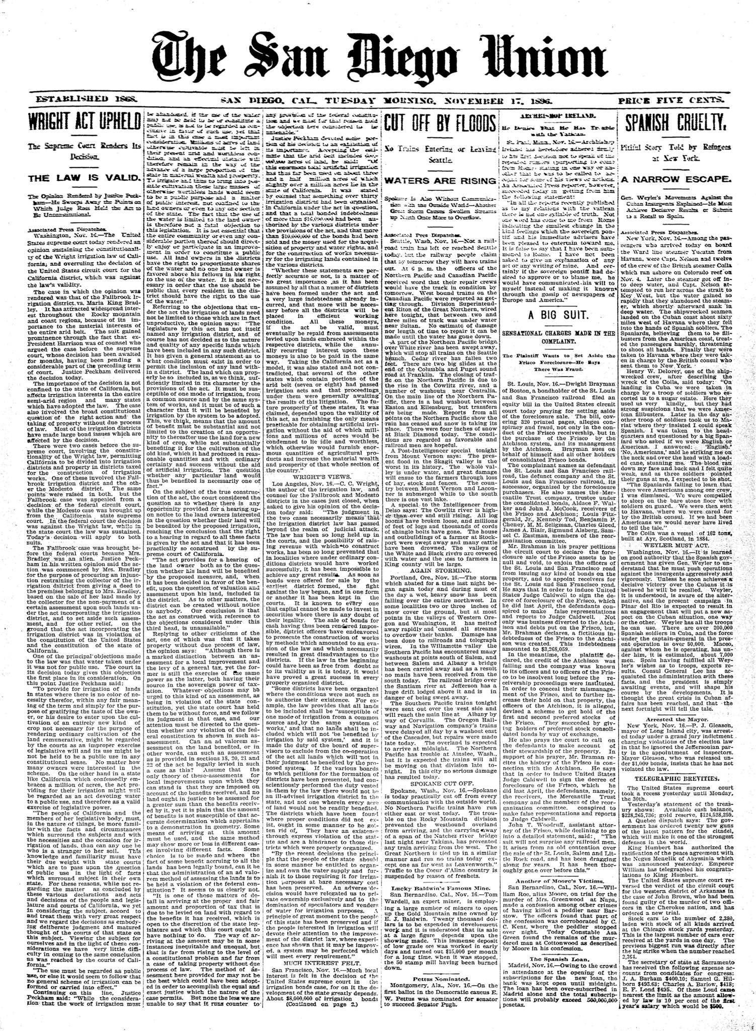 November 17, 1896