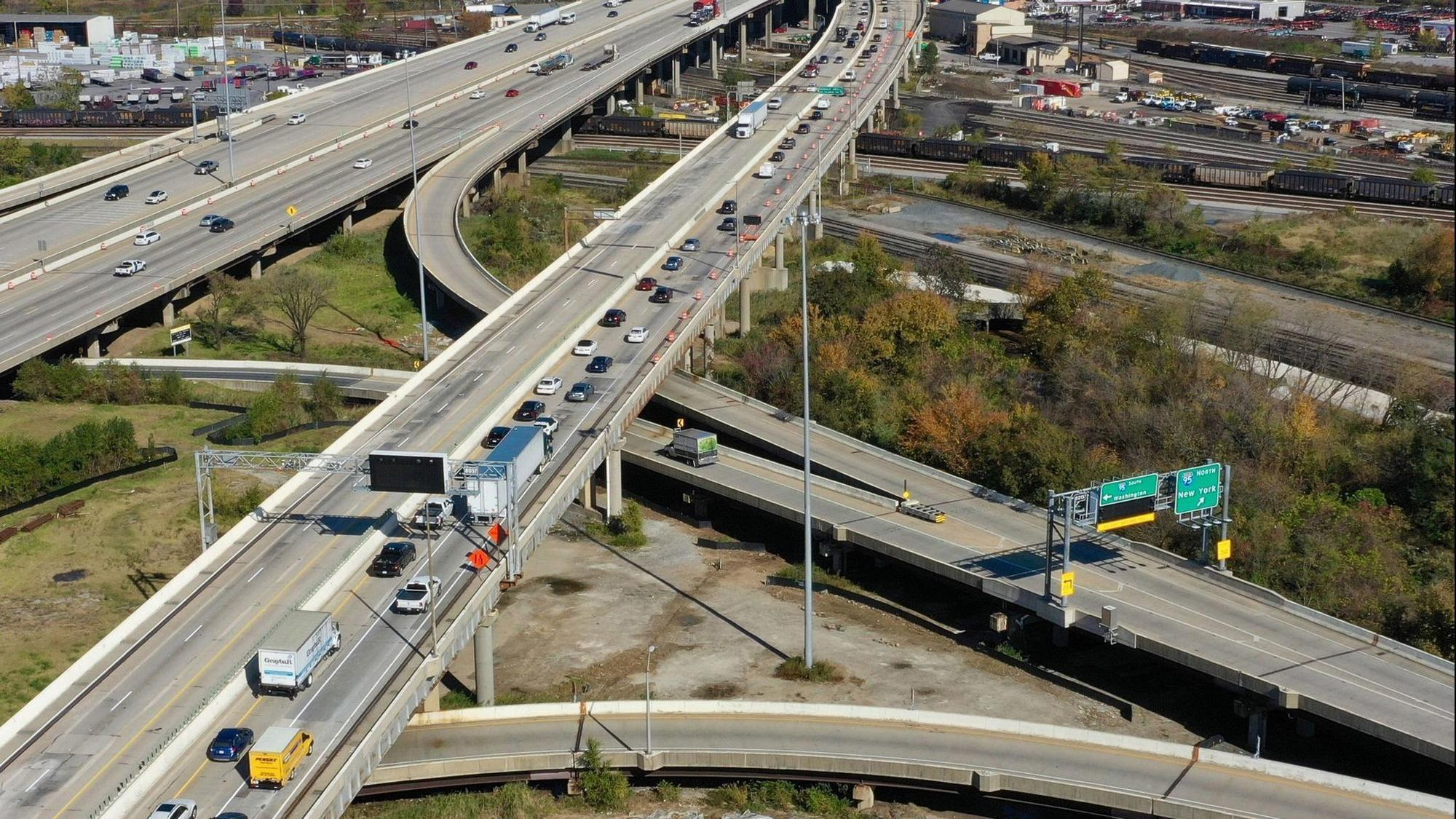 Construction on I-895 in Baltimore to cause major traffic problems for the  next three years - Baltimore Sun
