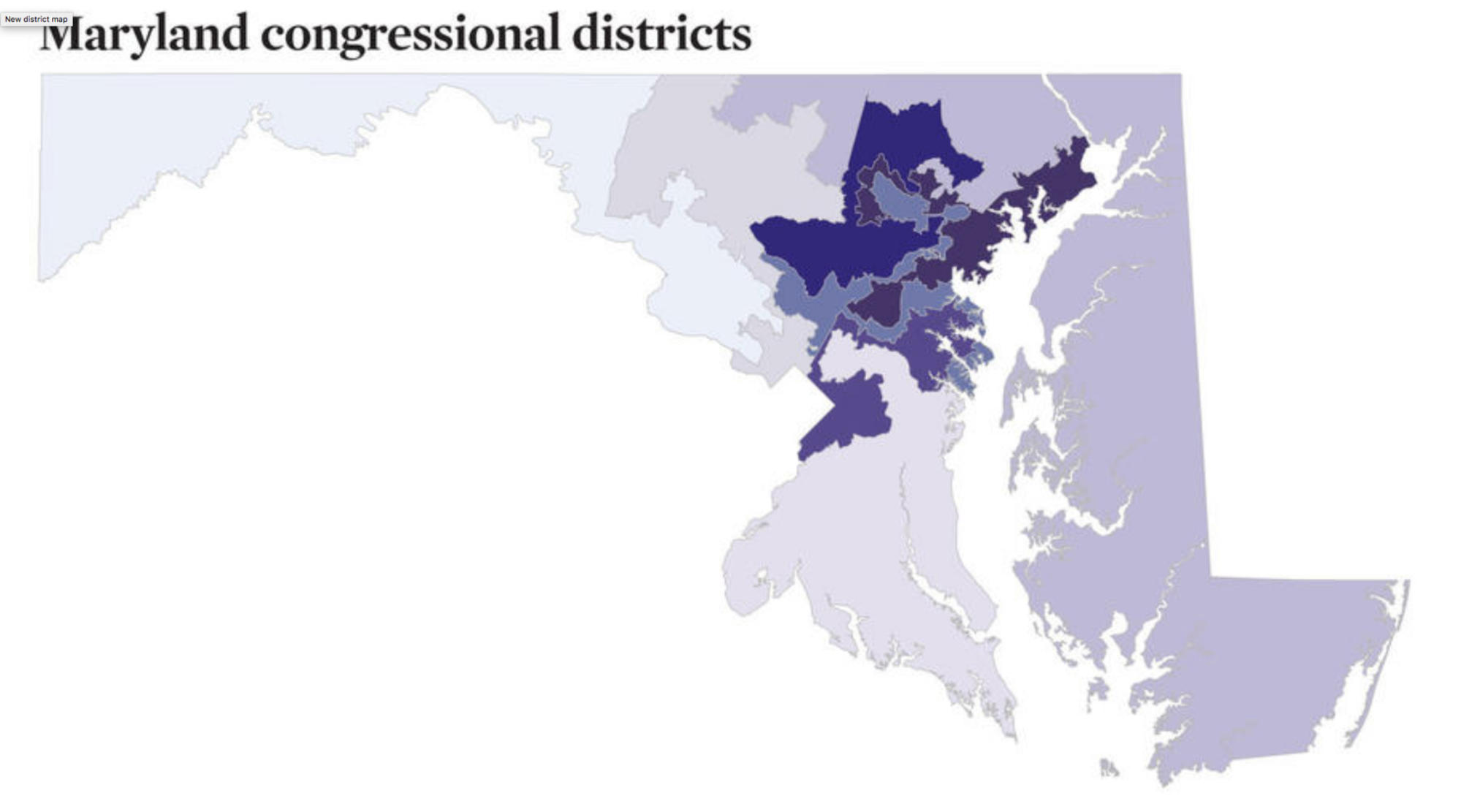 how to draw congressional districts