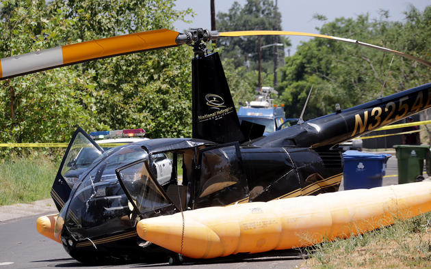 Danger spins from the sky: The Robinson R44, the world's