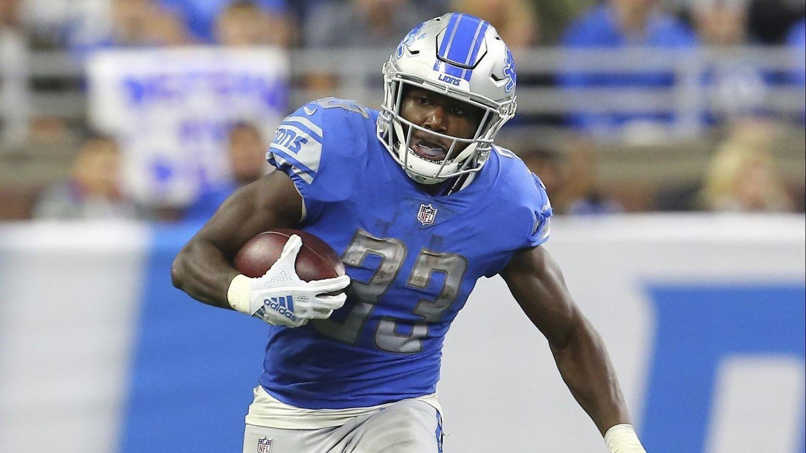 Scouting Report On Lions Rookie Running Back Kerryon Johnson They