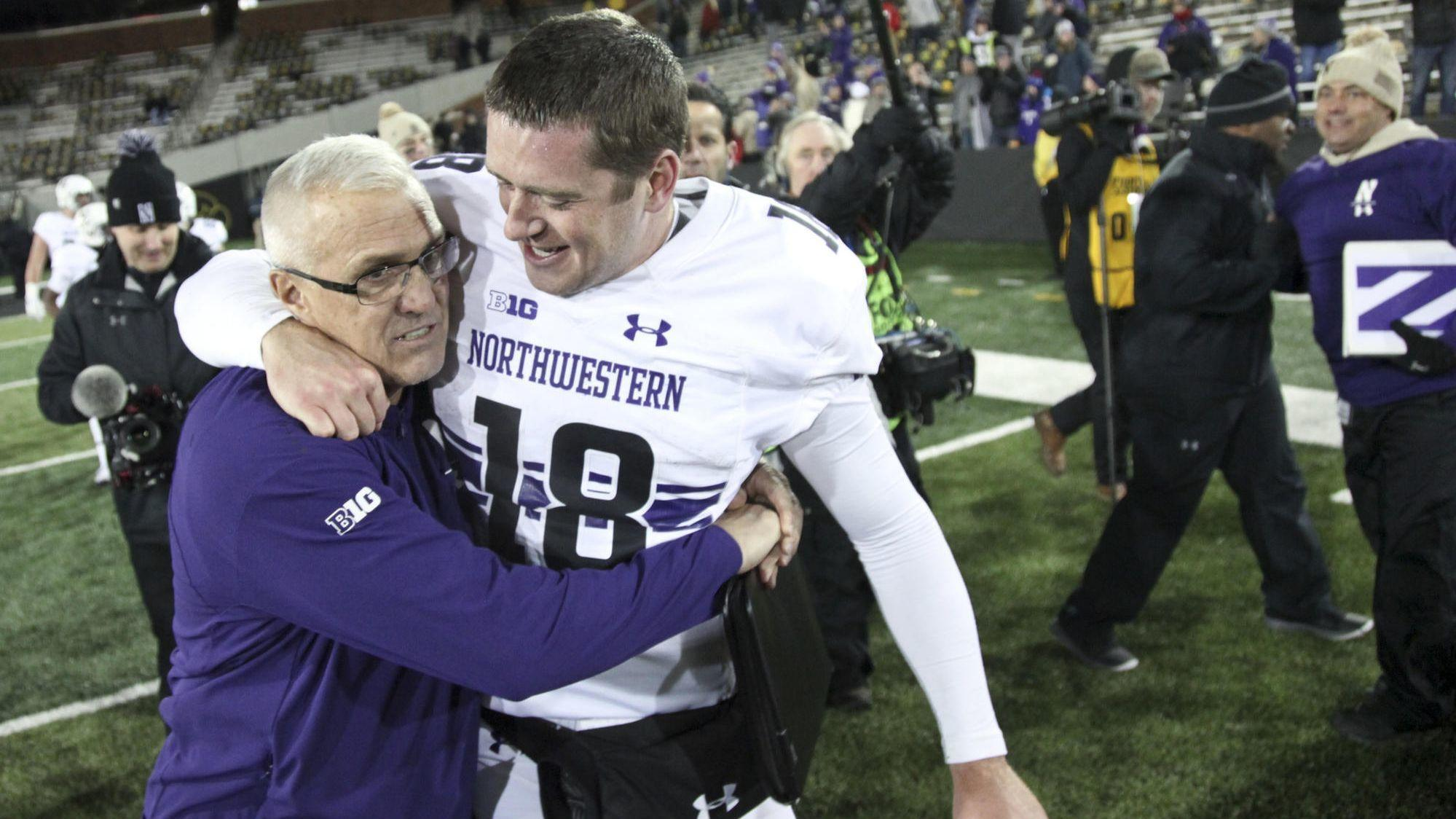 1ae697fae 3 takeaways from Northwestern s stunning 14-10 victory at Iowa - Chicago  Tribune