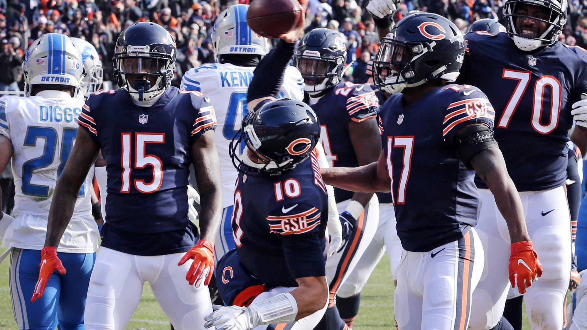 Ct-spt-bears-lions-playoffs-trubisky-nagy-rosenbloom-20181111