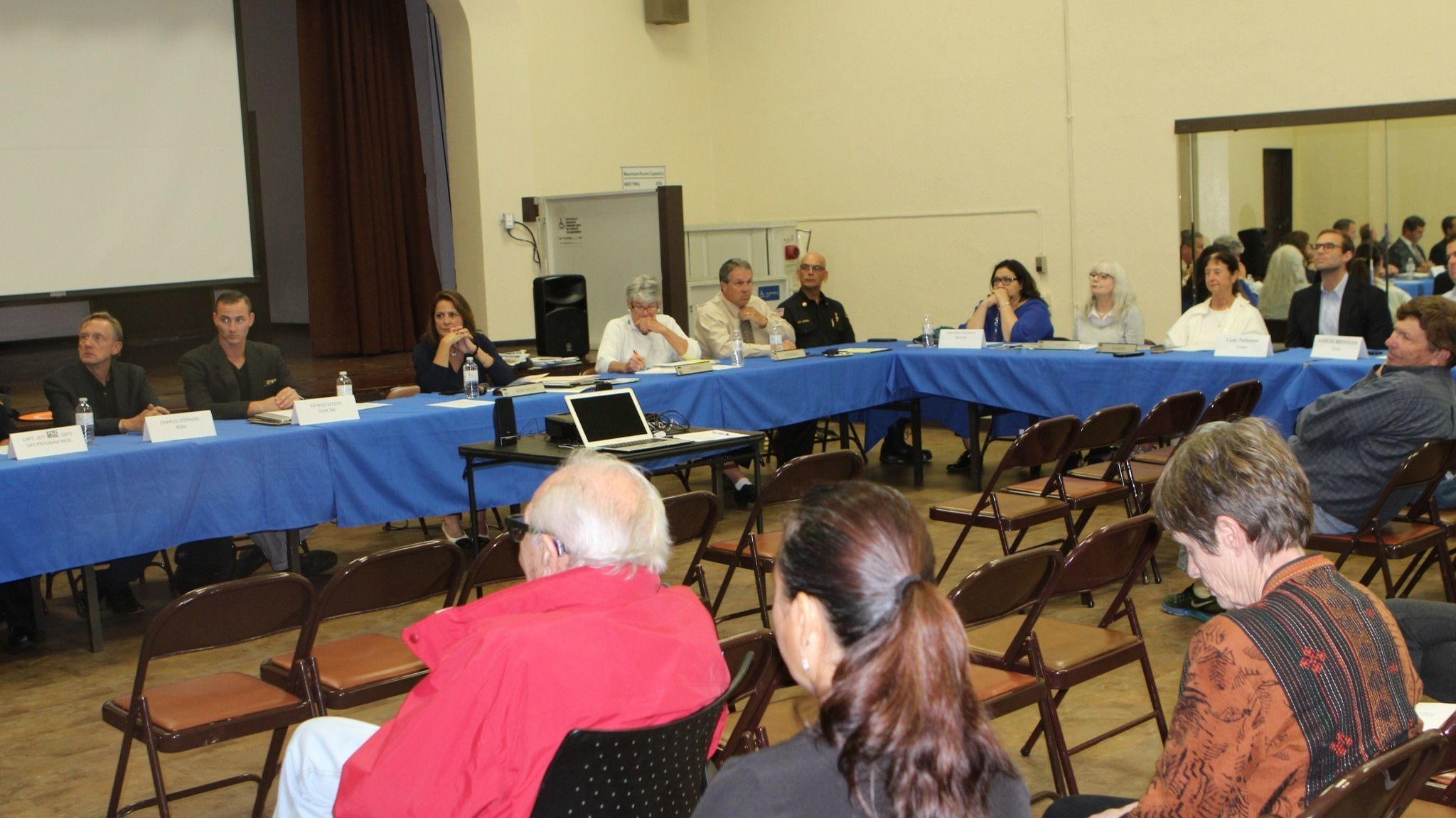 La Jolla Town Council members listen to experts extoll the virtues of drones and warn about their potential for misuse.
