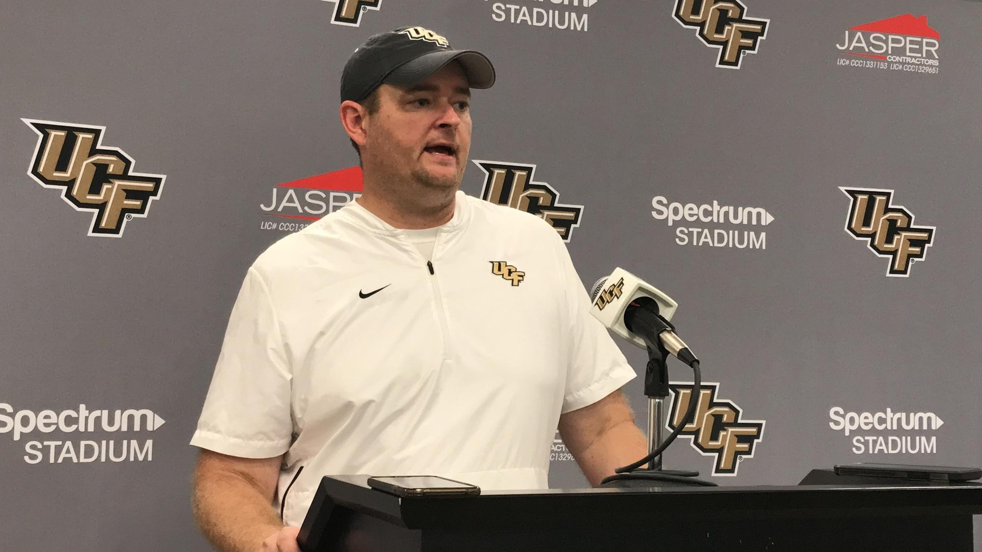 UCF head coach Josh Heupel on getting fired by Oklahoma ...