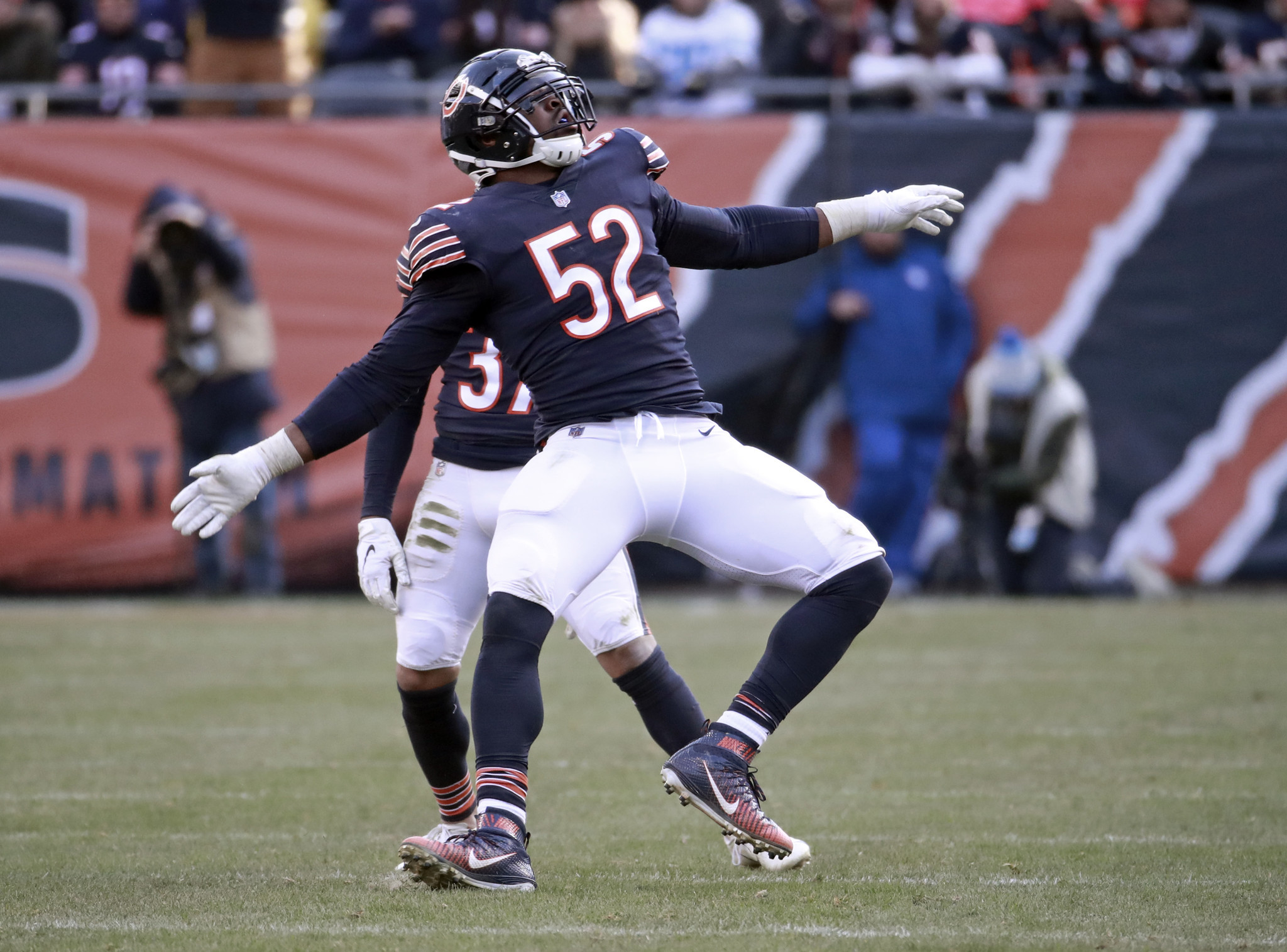 a842935a0d9 Will January see Khalil Mack celebrating? (Nuccio DiNuzzo/Chicago Tribune)