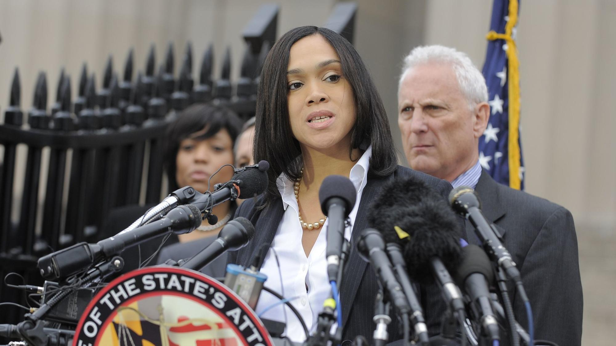 baltimoresun.com - Kevin Rector - Supreme Court denies Baltimore officers' appeal in case against Marilyn Mosby
