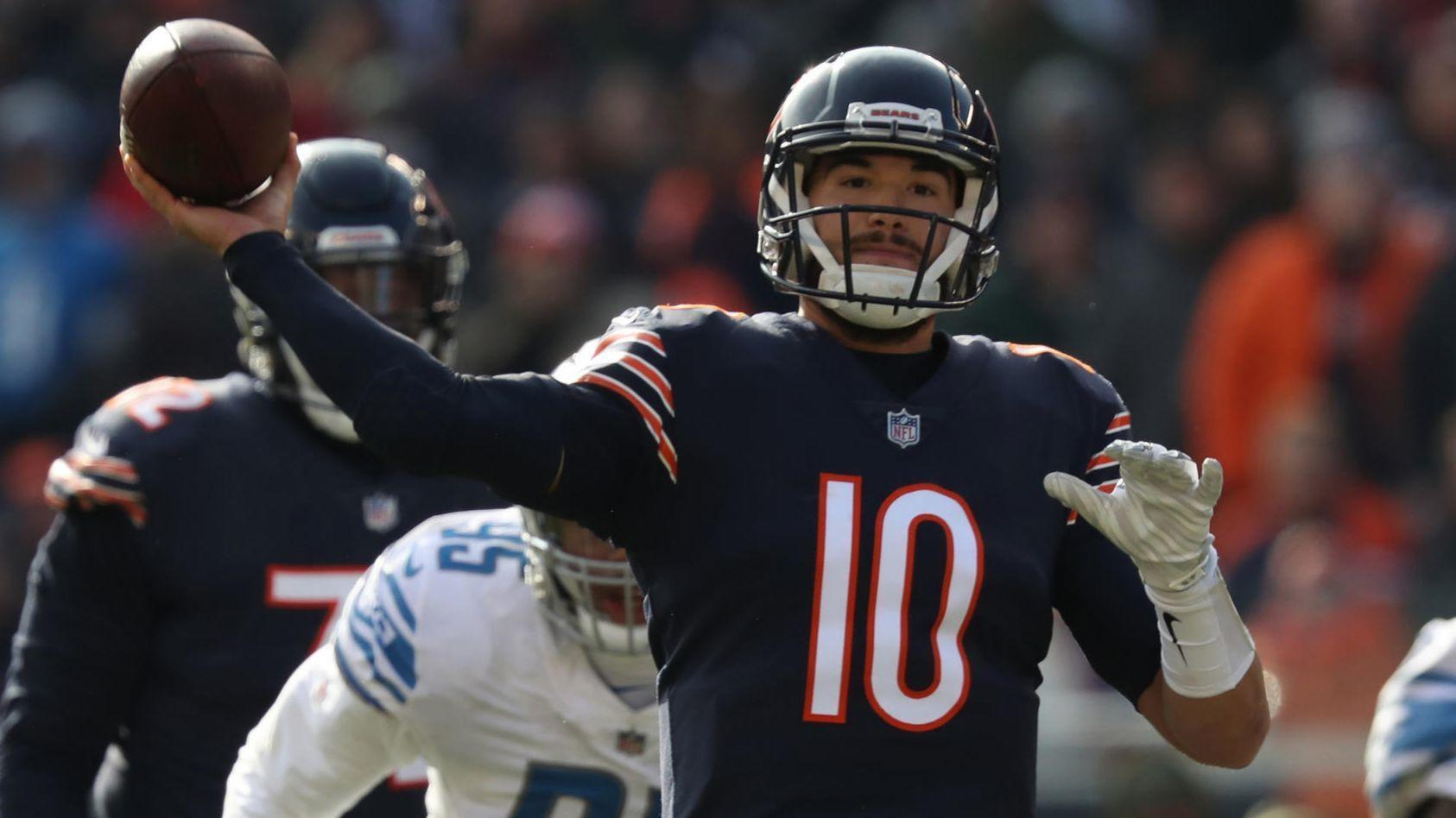 609c18ab4 5 observations from rewatching Bears-Lions  Mitch Trubisky s best plays  from his best game