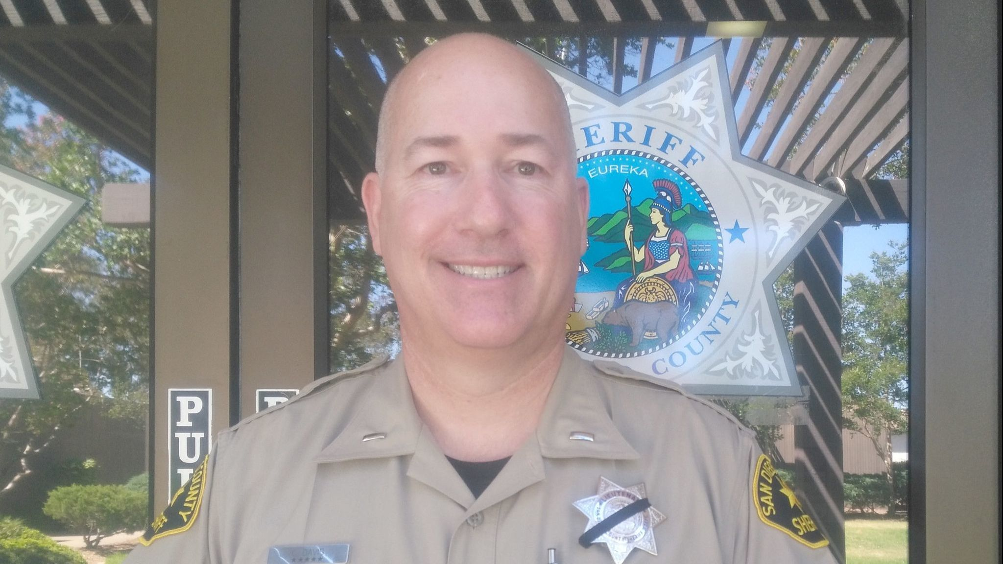 Sheriff's Lt. Chris Davis relocated from the sheriff's Ramona substation to the sheriff's Court Services Bureau on Oct. 26.