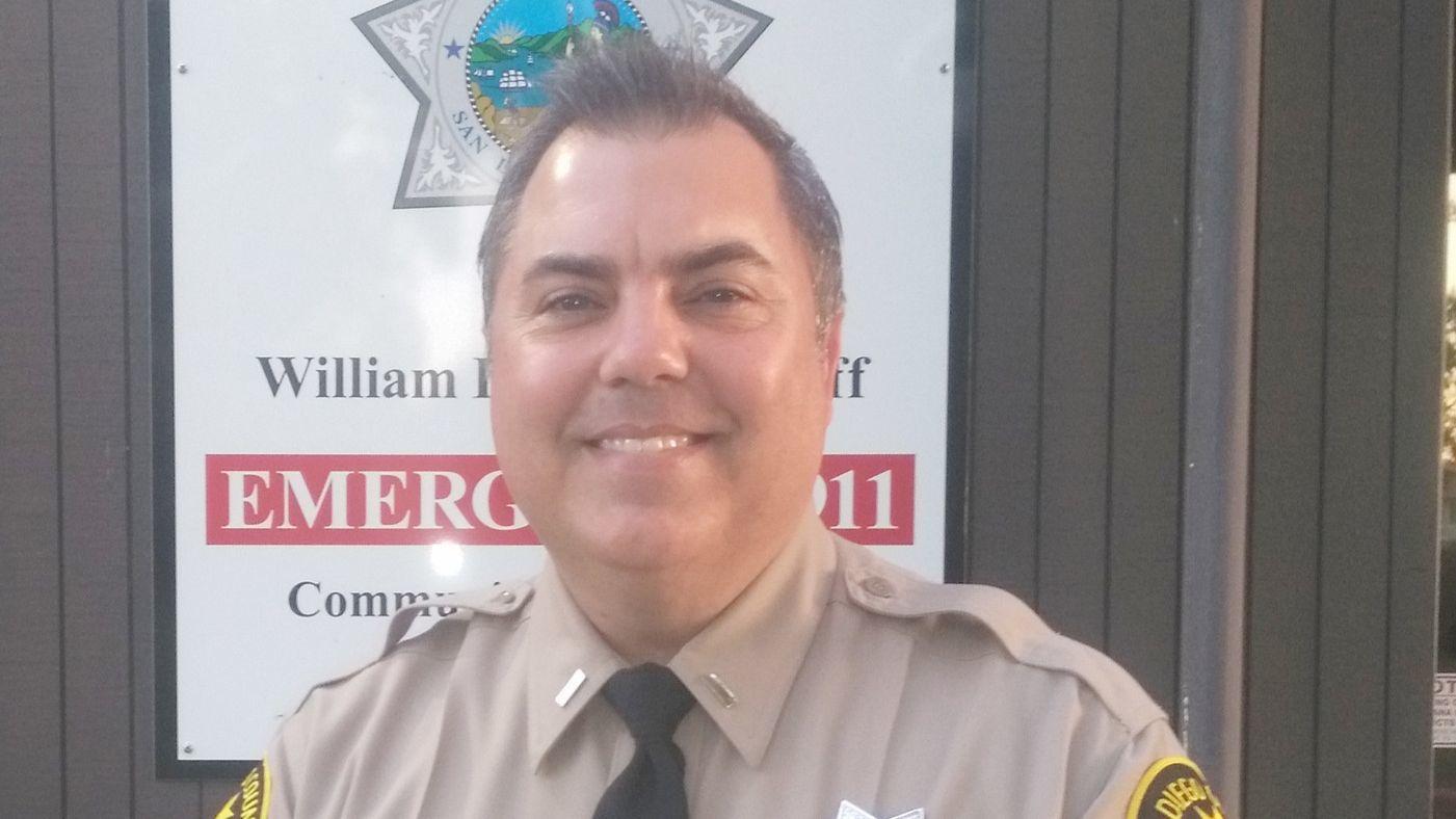 Ken Jones is the new sheriff's Ramona substation lieutenant who recently replaced Lt. Chris Davis.