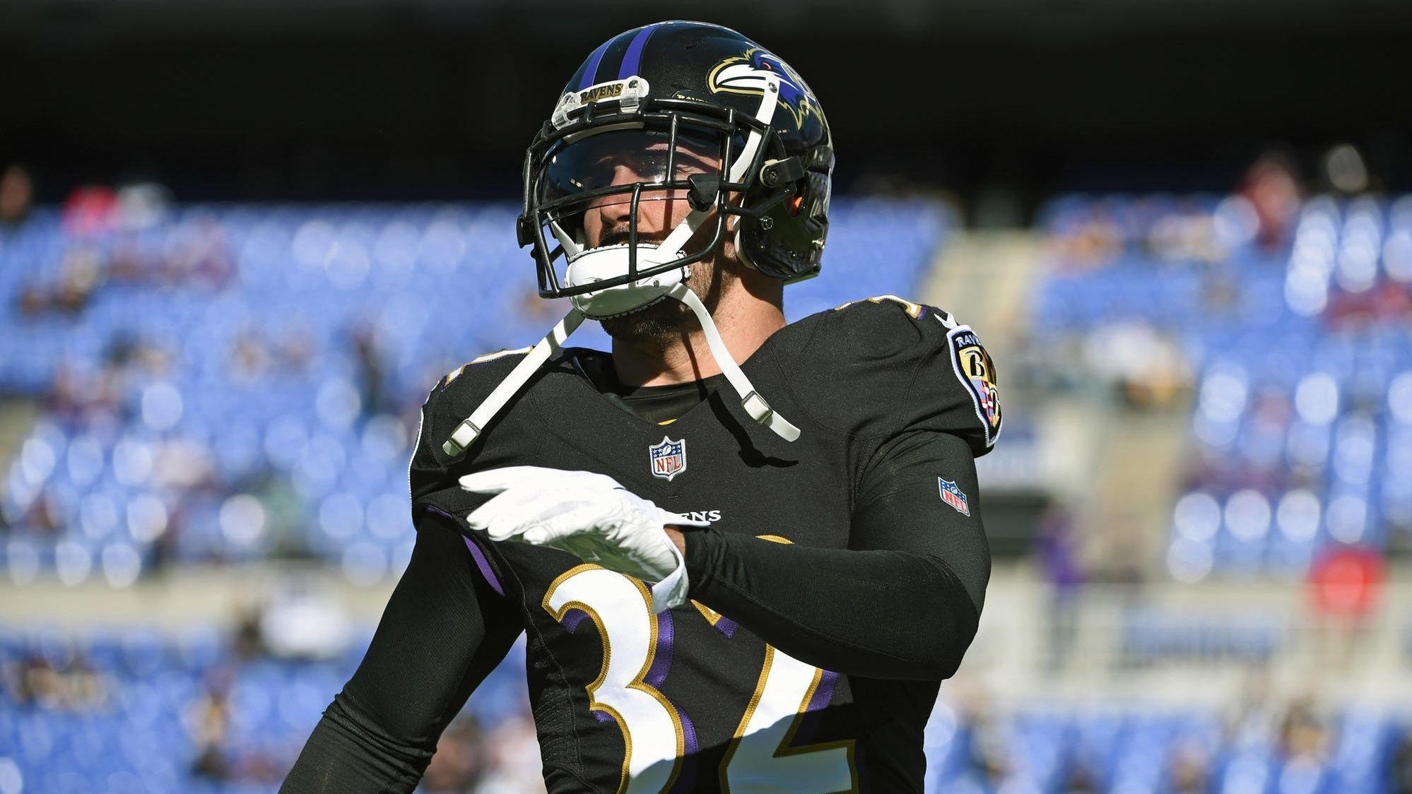 ravens safety eric weddle fined for week 9 hit vs steelers wide