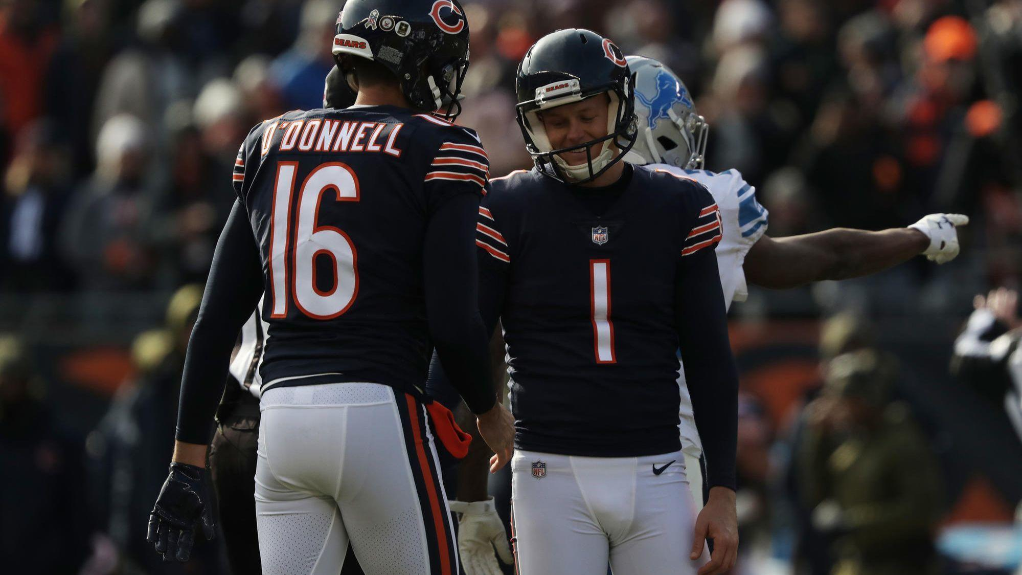 Bears Censor Tv Helicopter Coverage Of Kicker Cody Parkey