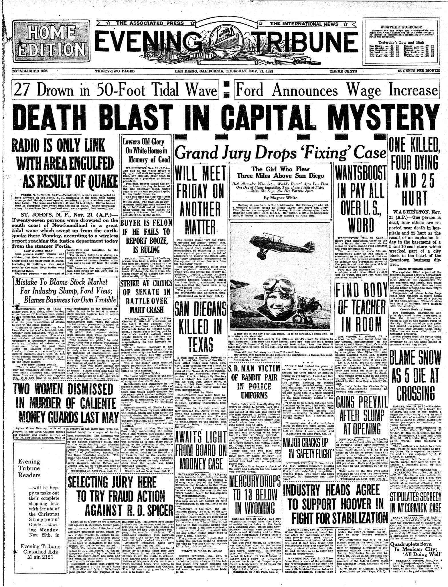 November 21, 1929