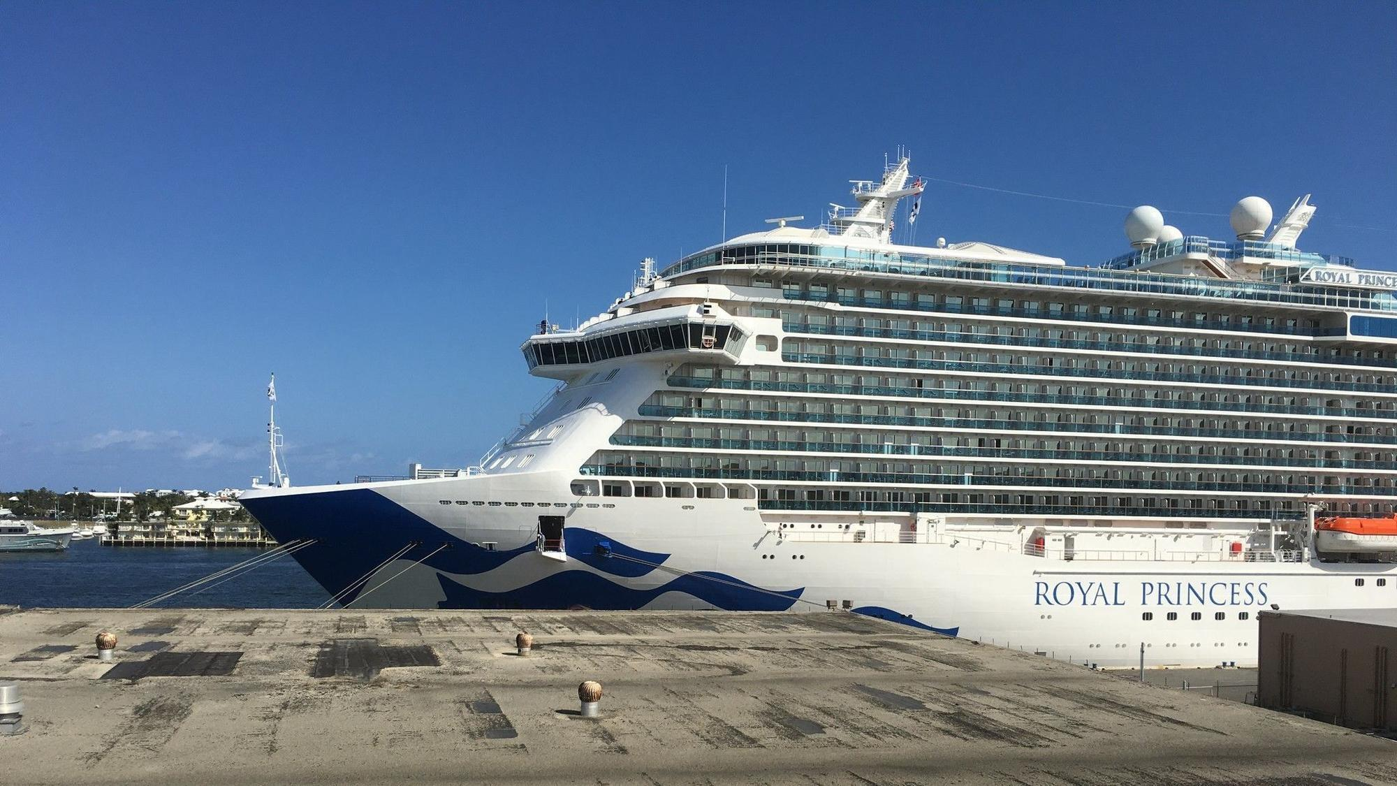Woman found dead aboard Princess Cruises ship that left ...