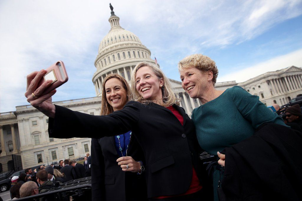 BESTPIX - House Representatives-Elect Pose For Group Photo In Front Of U.S. Capitol