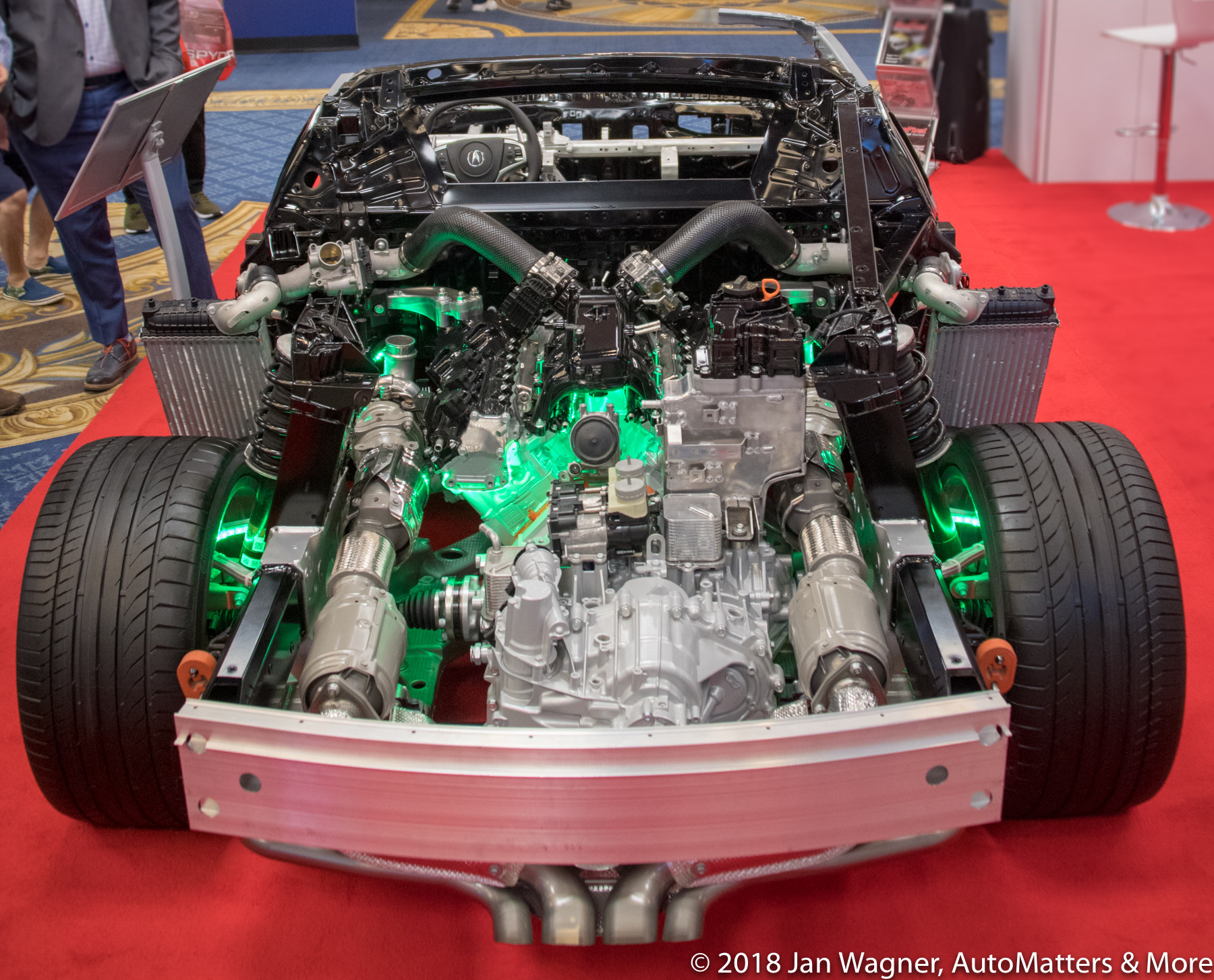 Cutaway Acura