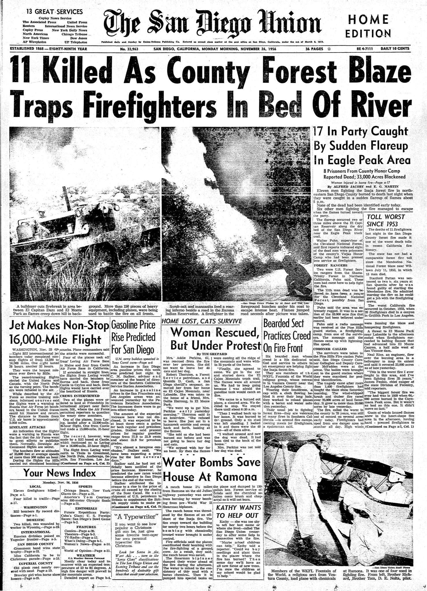 November 26, 1956