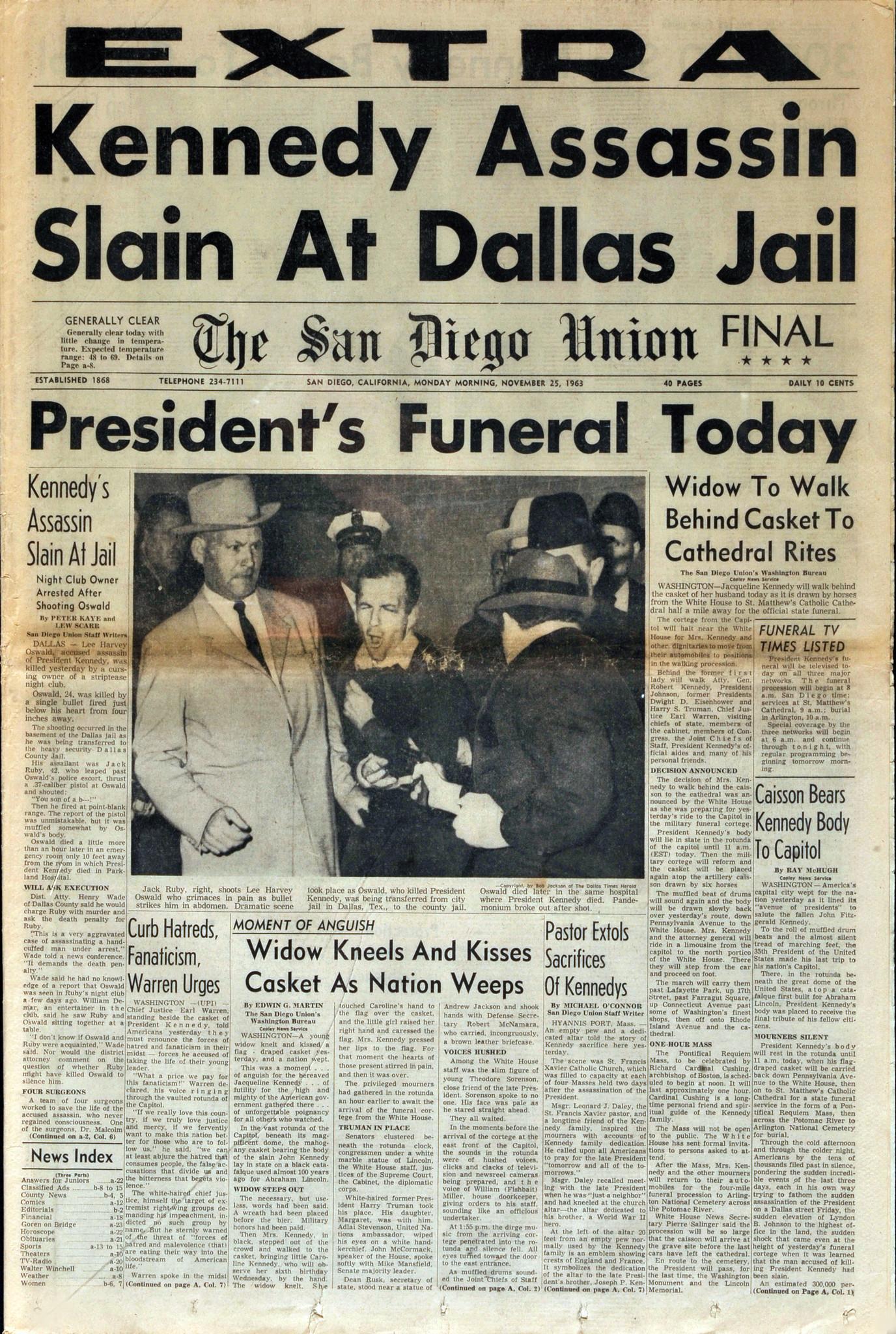 November 25, 1963