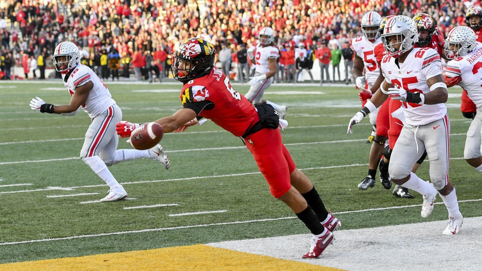 Going For 2 In Overtime Maryland Comes Up Short In Wild 52 51 Loss