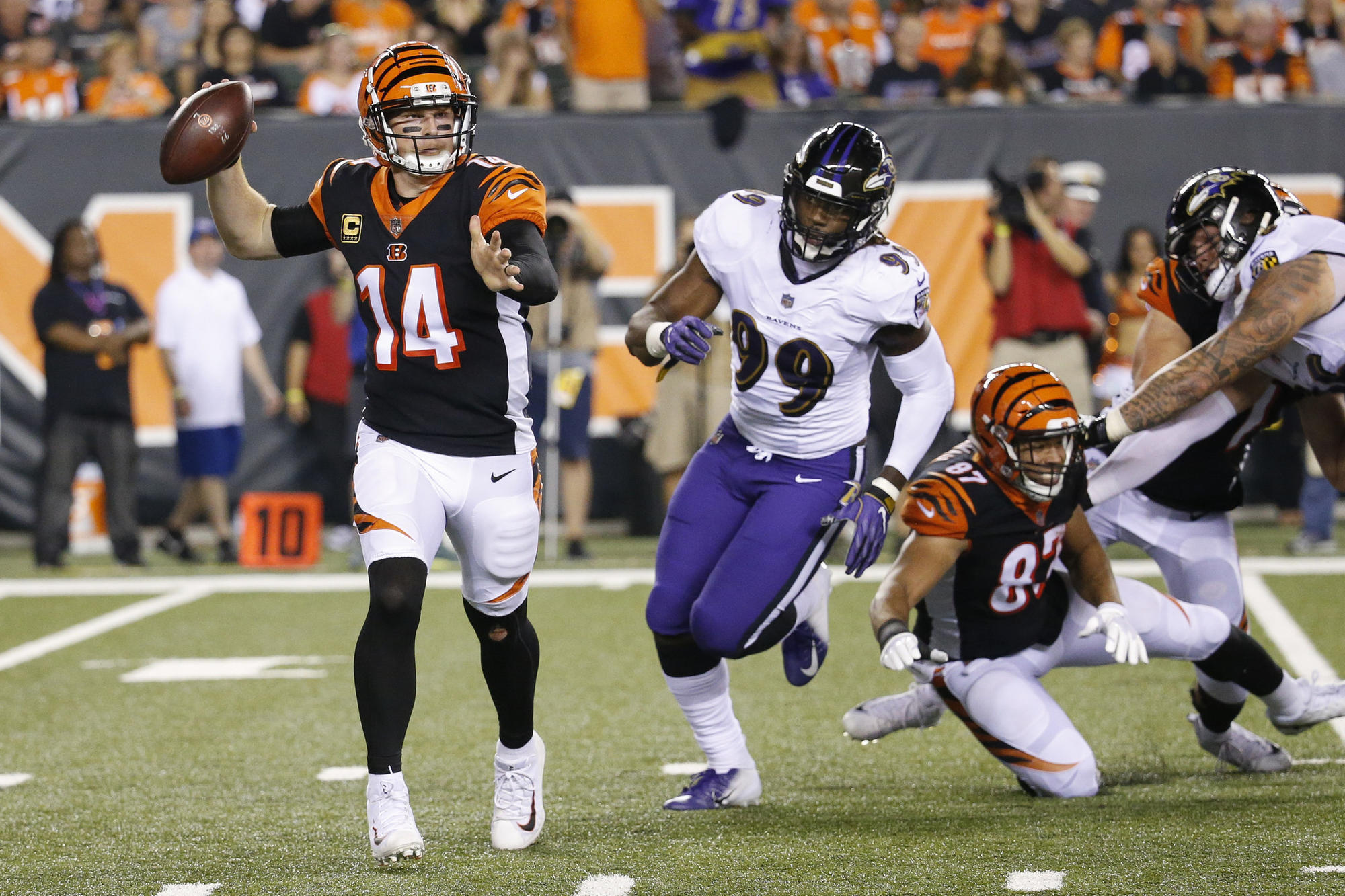 scouting report for sunday s ravens bengals game baltimore sun