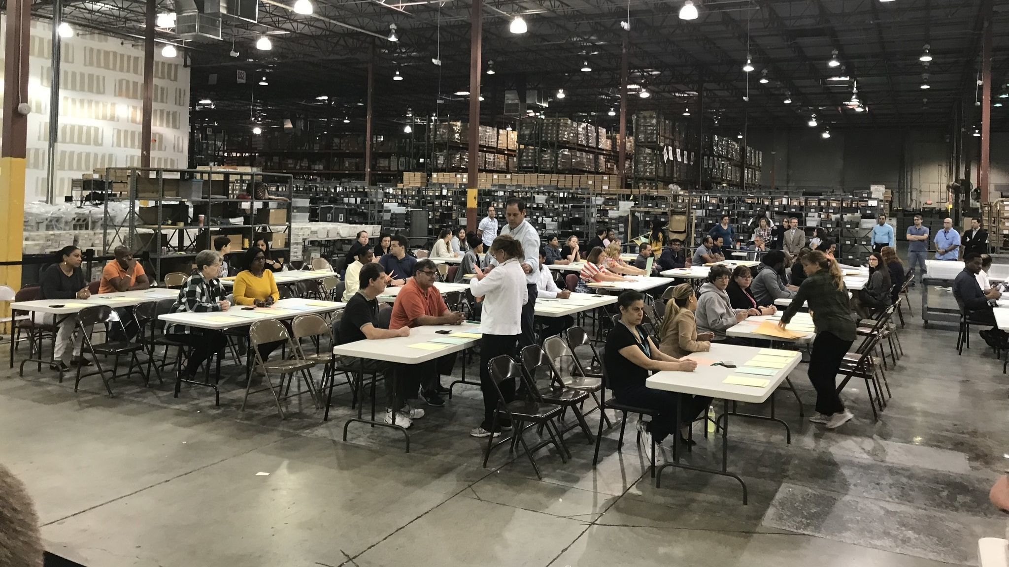 Last second: The Florida recount deadline was noon. Palm Beach got their results in at 11:59:59.