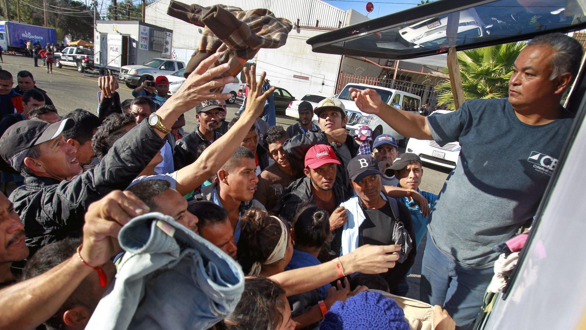 Image result for tijuana caravan
