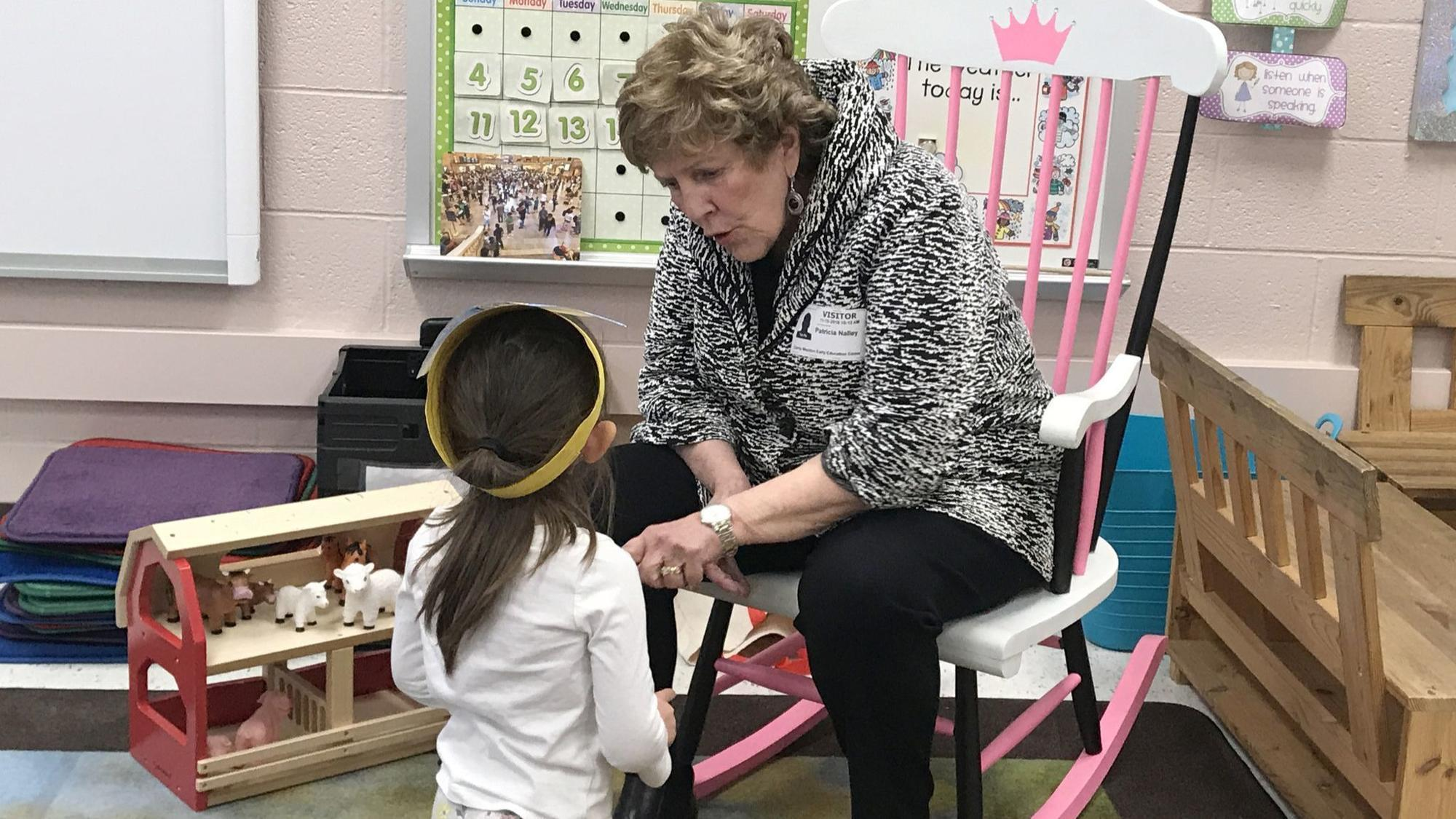 After nearly 50 years in county schools, Nalley spends final days as board member with children
