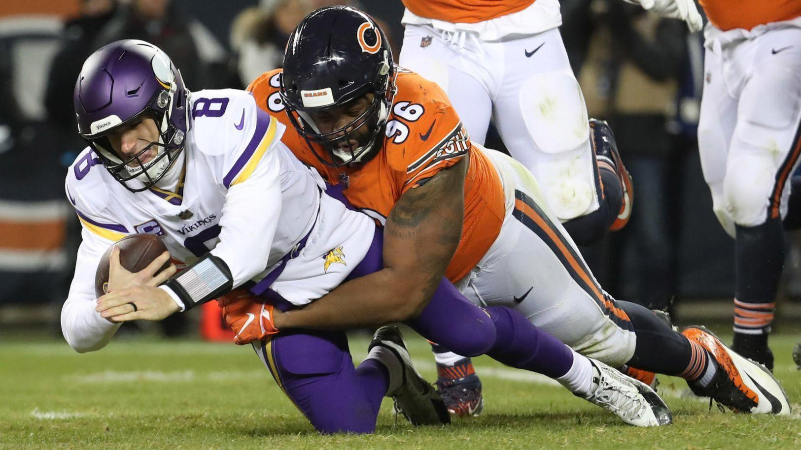 4e631ece7 Knocking off the defending NFC North champs proves the Bears are the team  to beat - Chicago Tribune