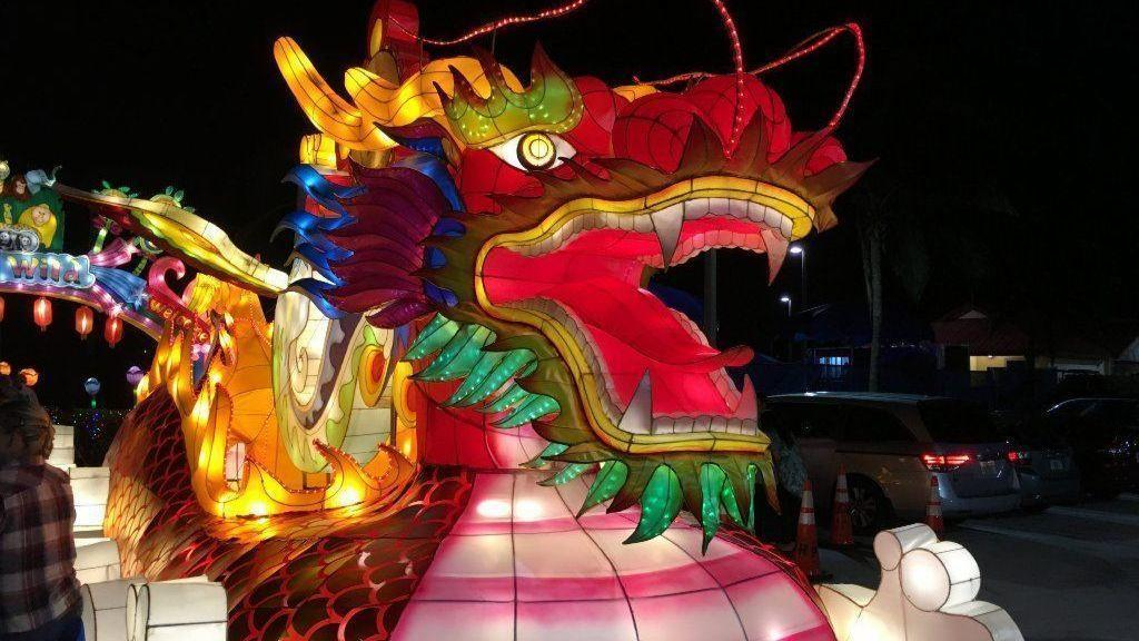 Light Festival To Bring Chinese Lanterns Dragons Miami Sun Sentinel