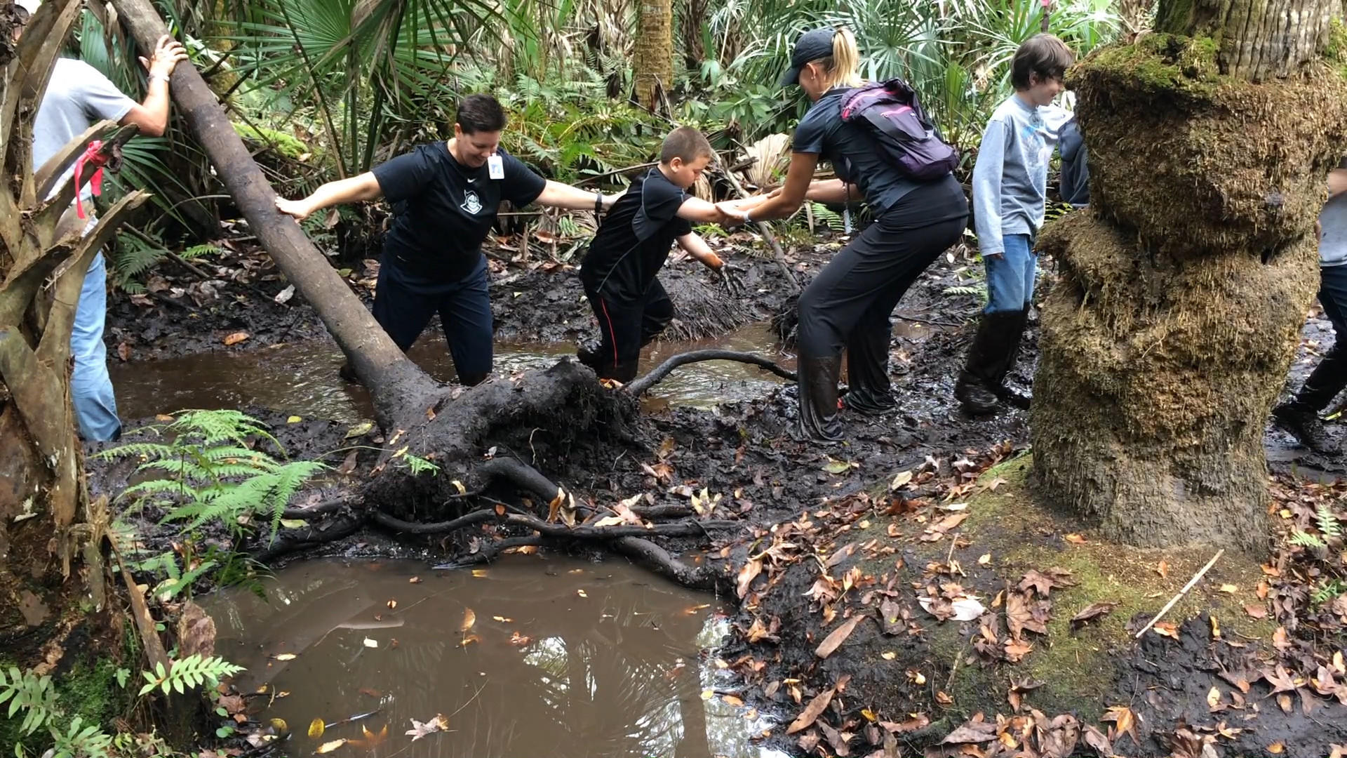 Mud Walk A Rite Of Passage For Seminole County Fifth
