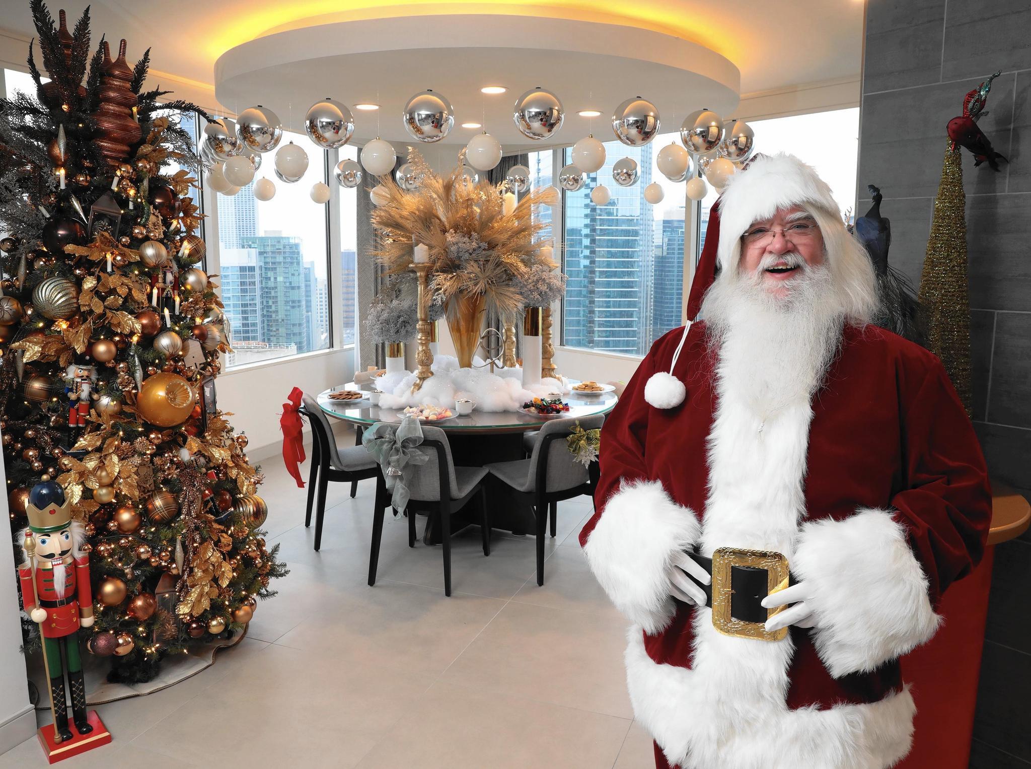f93166e79e5 Swing by Santa s pad at the Swissotel