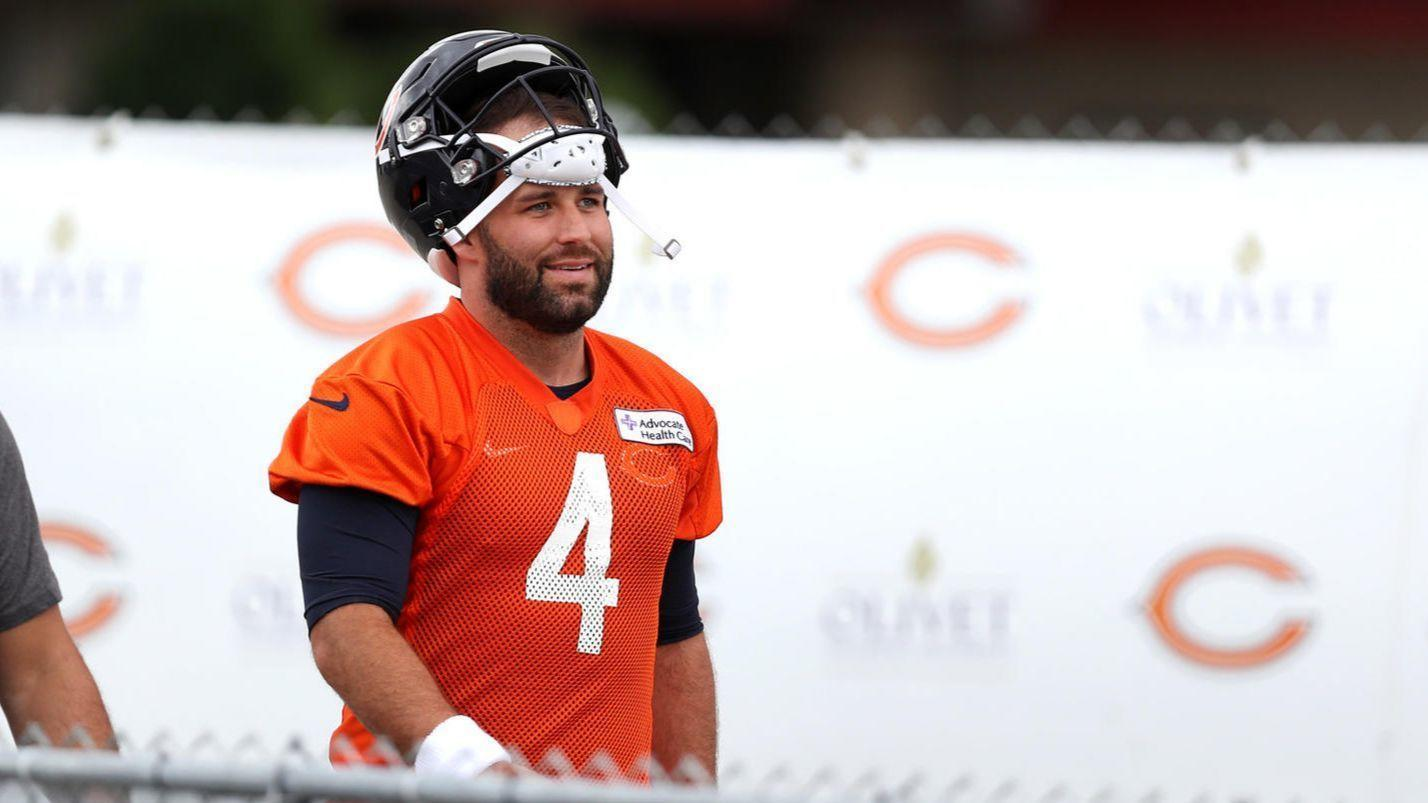 1d07fa1dc Chase Daniel ready to start at QB if needed as Bears monitor Mitch  Trubisky s shoulder injury - Chicago Tribune