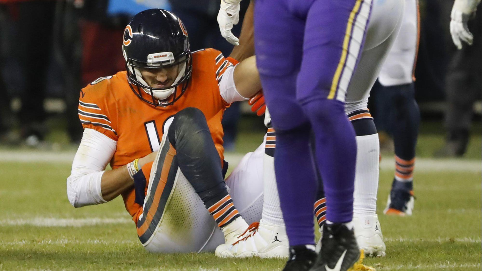 As Bears Prepare To Be Without Him Thursday Mitch Trubisky Is