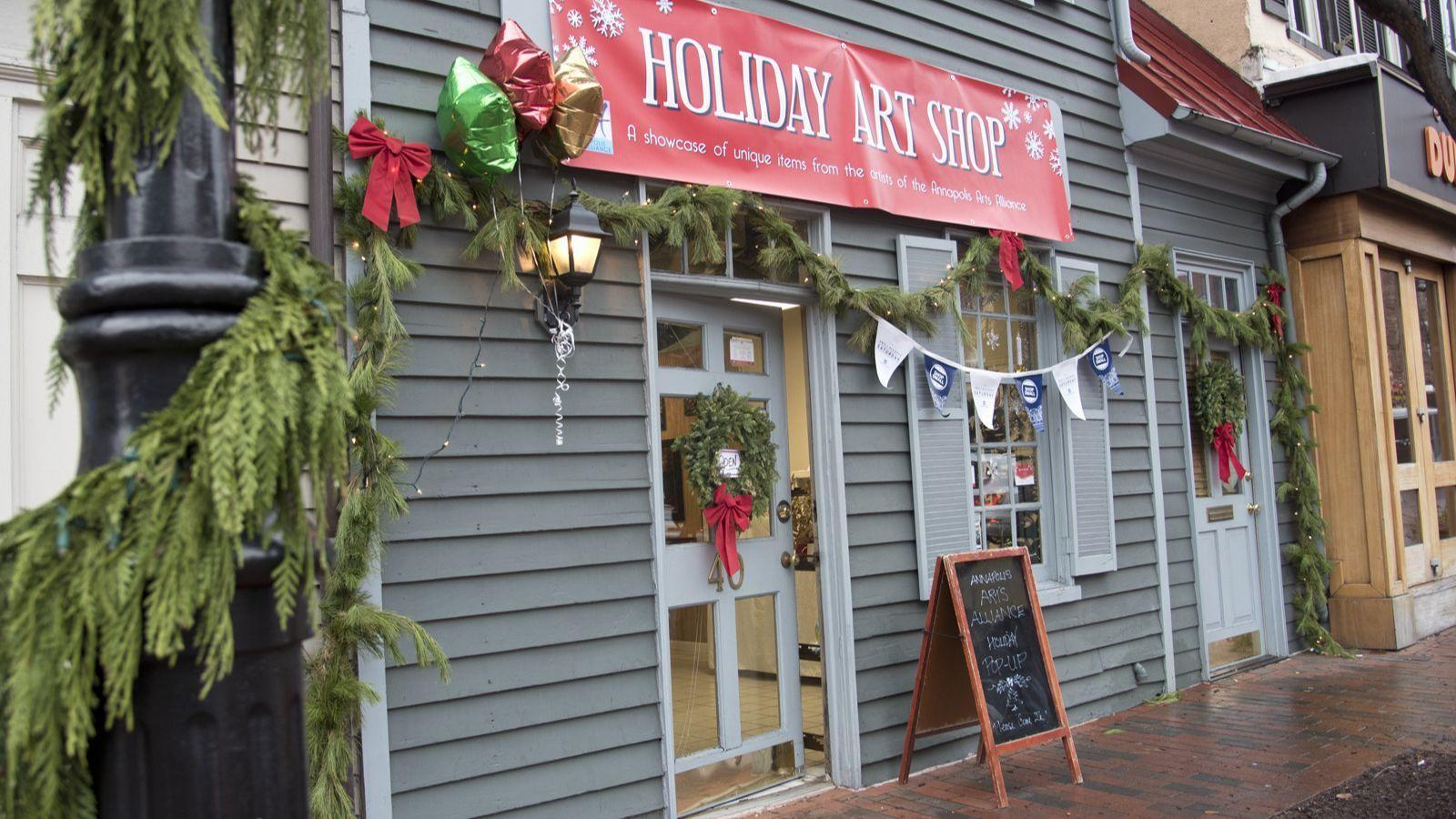 Top Billing: Holiday Pop-Up Shop, Maker's Market, crafting classes and more big events in Anne Arundel