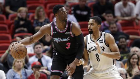 Heat go from bad to worse in 104-92 loss to Nets