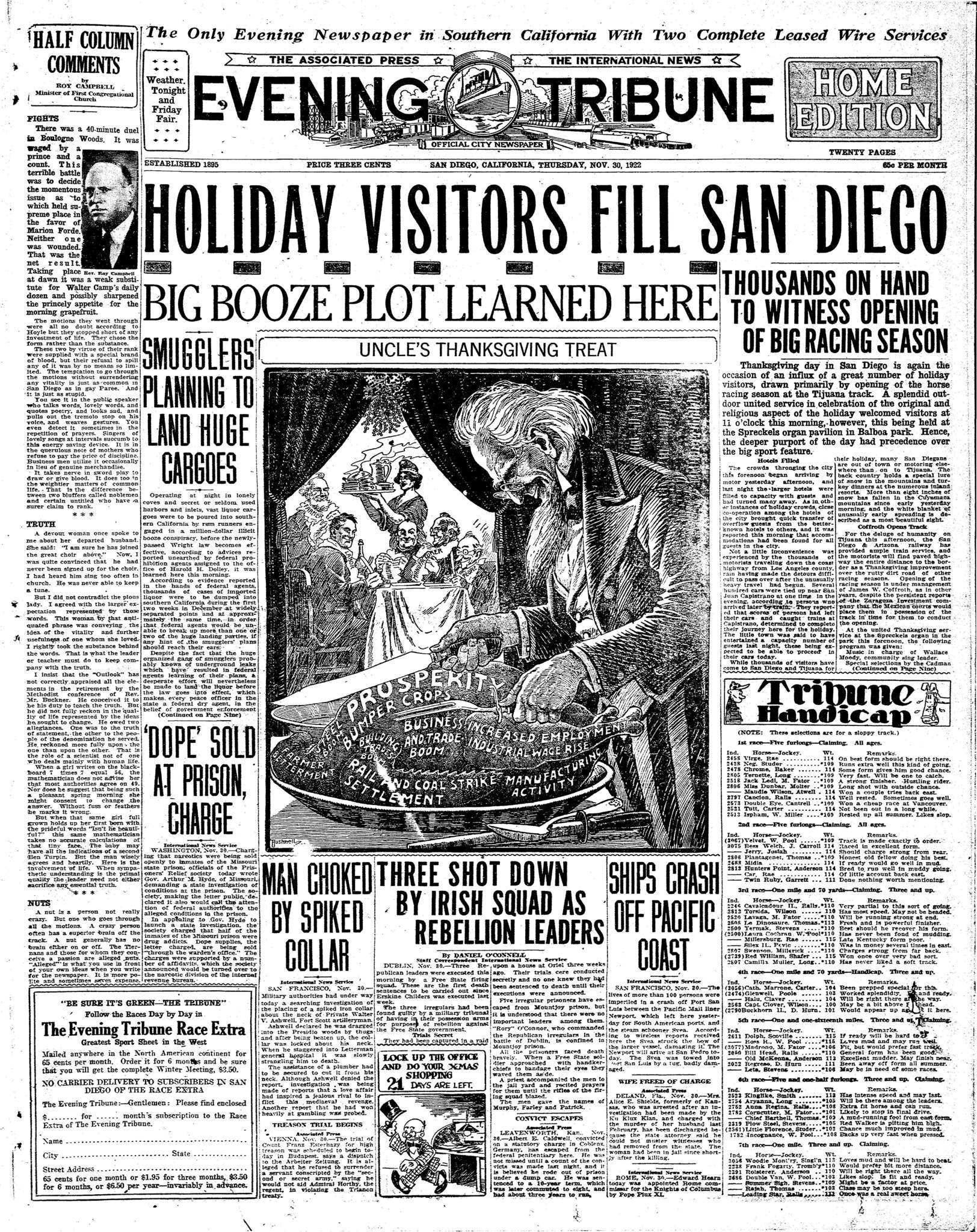 November 30, 1922