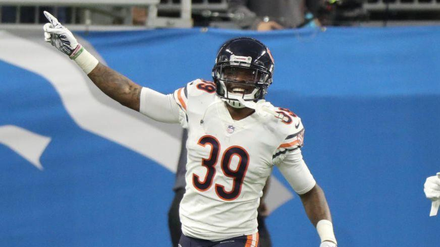 Play of the Game  Eddie Jackson delivers again with a clutch pick-six to  rescue the Bears - Chicago Tribune 75c89481e