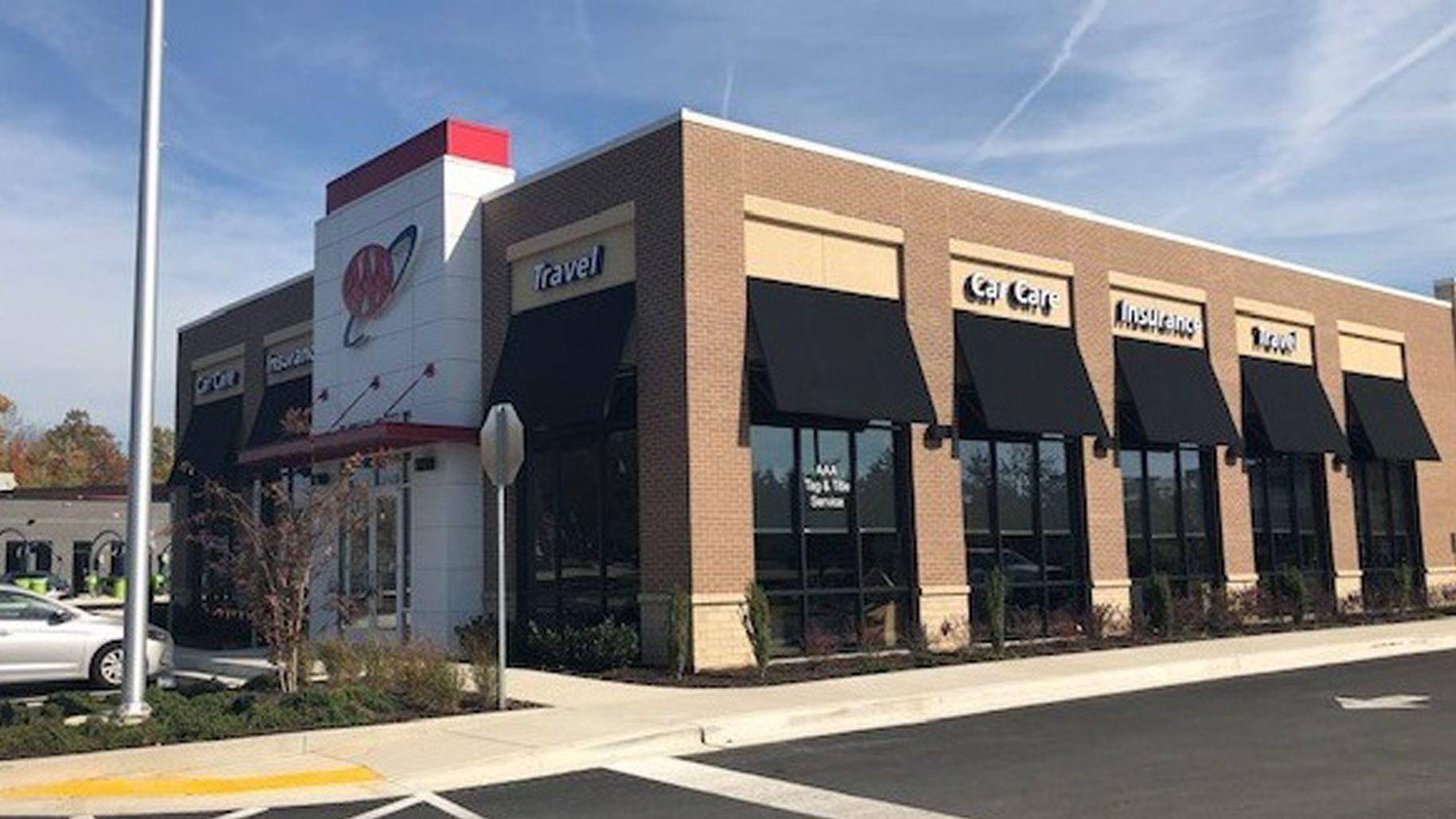 aaa opens new abingdon car care insurance and travel