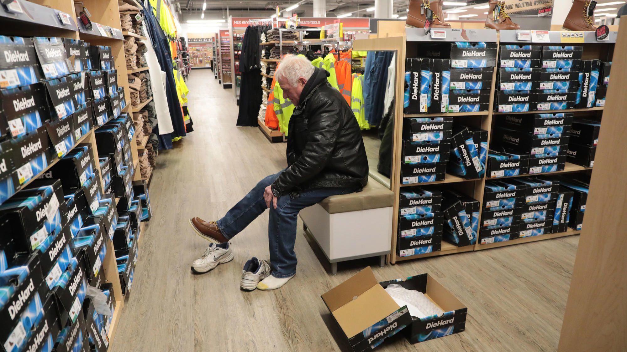 Sears On Black Friday: Stocked Shelves And Sentimental