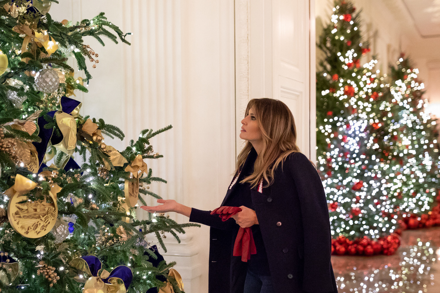 white house holiday decorations baltimore sun